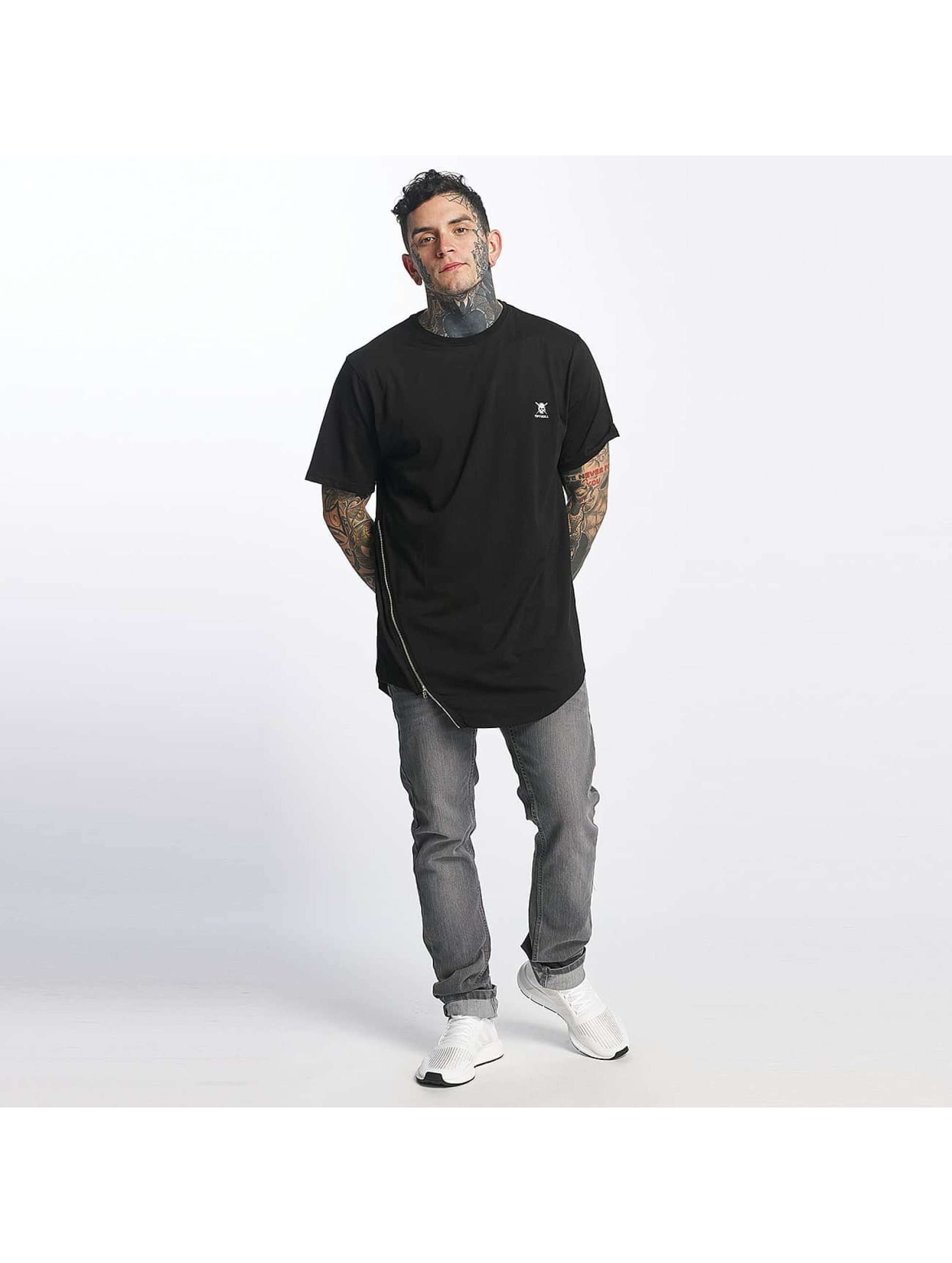 Tuffskull T-shirt Zipline nero