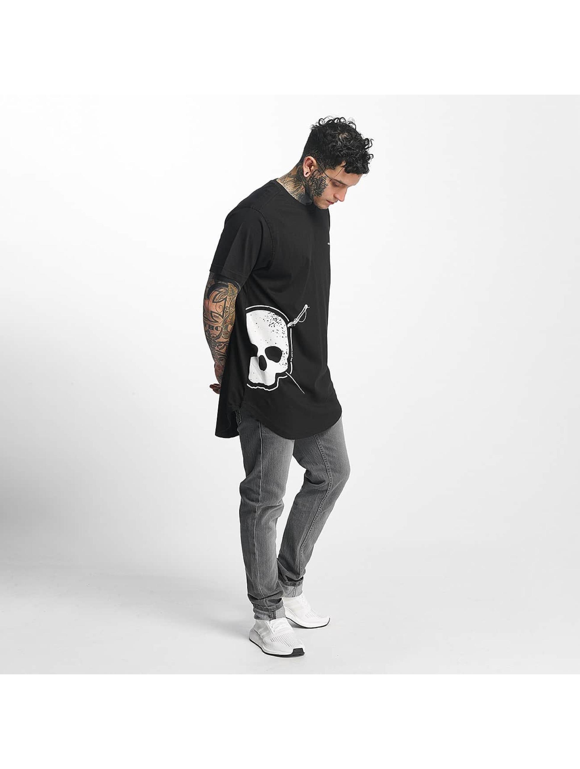 Tuffskull t-shirt Big Skull zwart