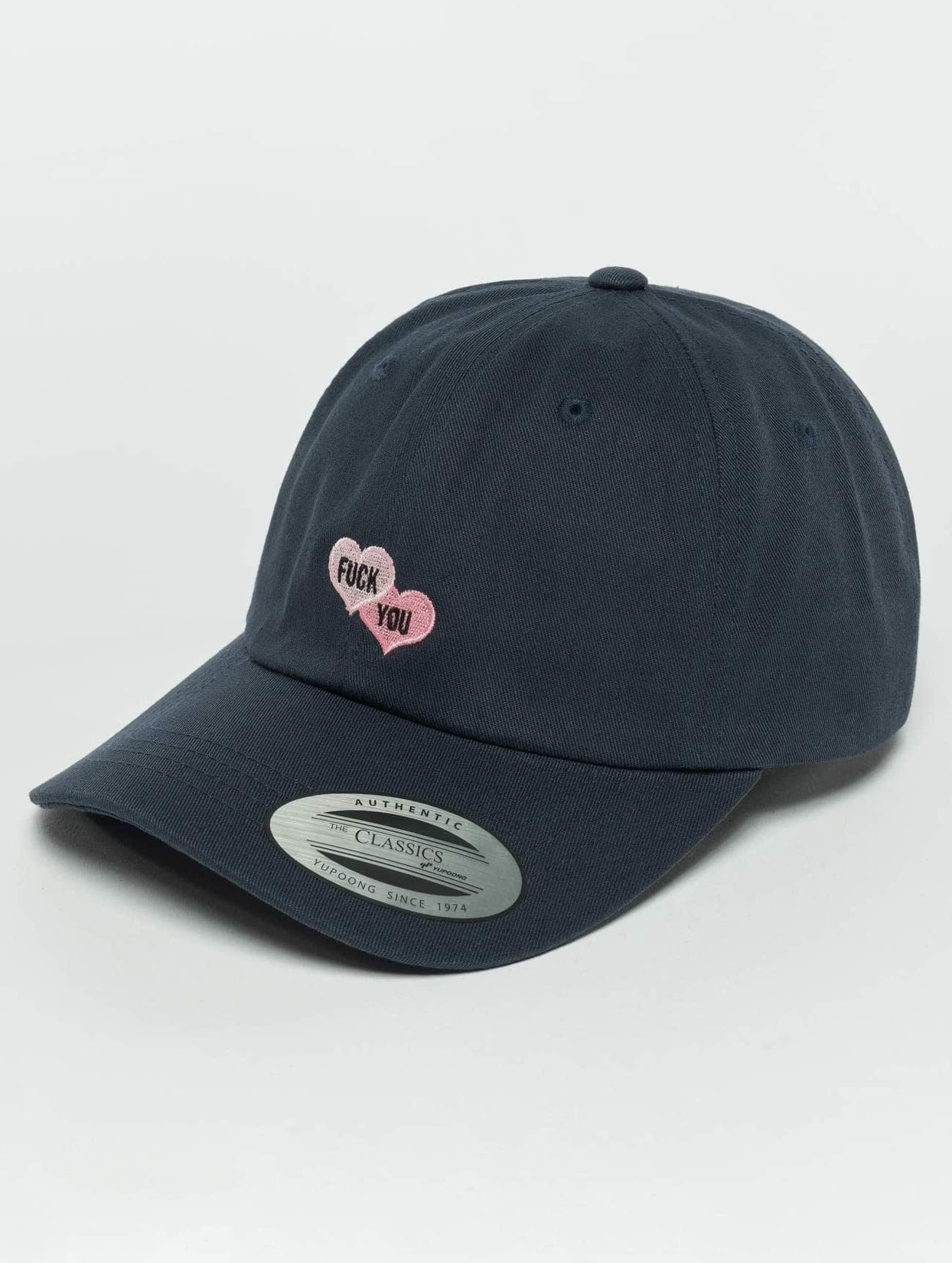 TurnUP snapback cap F U blauw