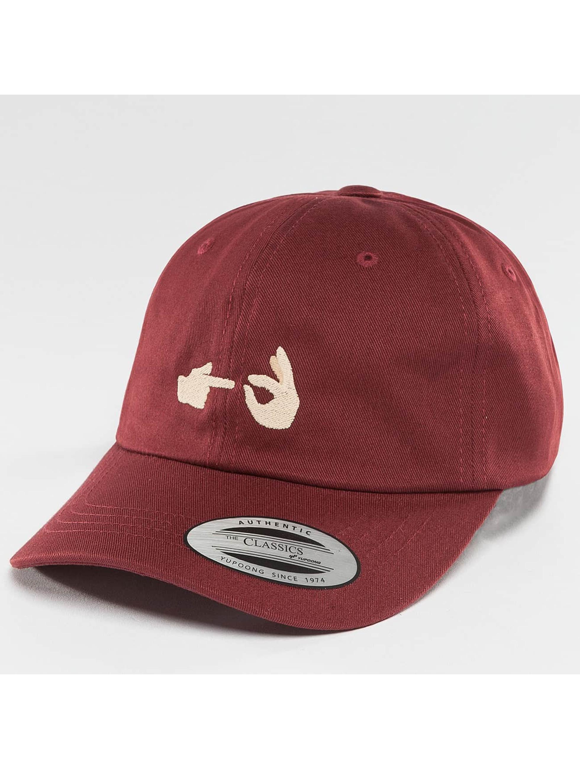 TurnUP snapback cap Fakki Fakki rood