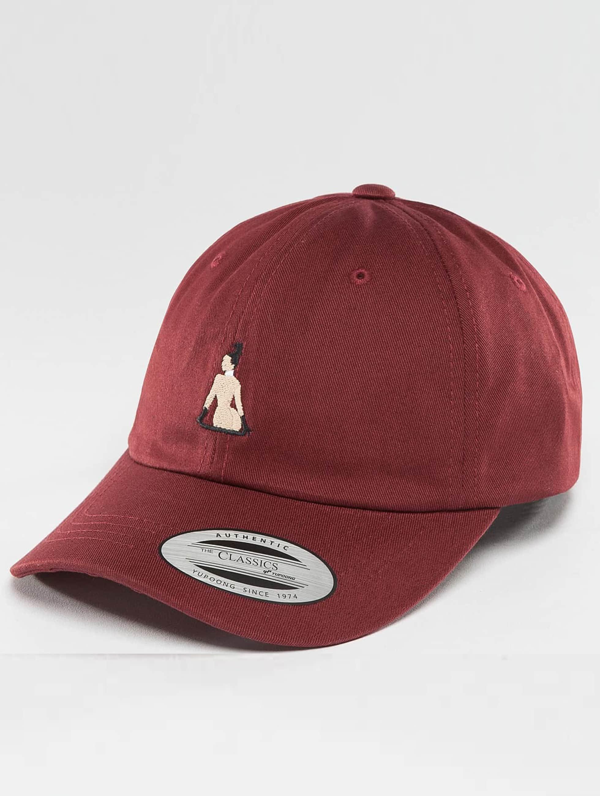 TurnUP snapback cap Broke rood