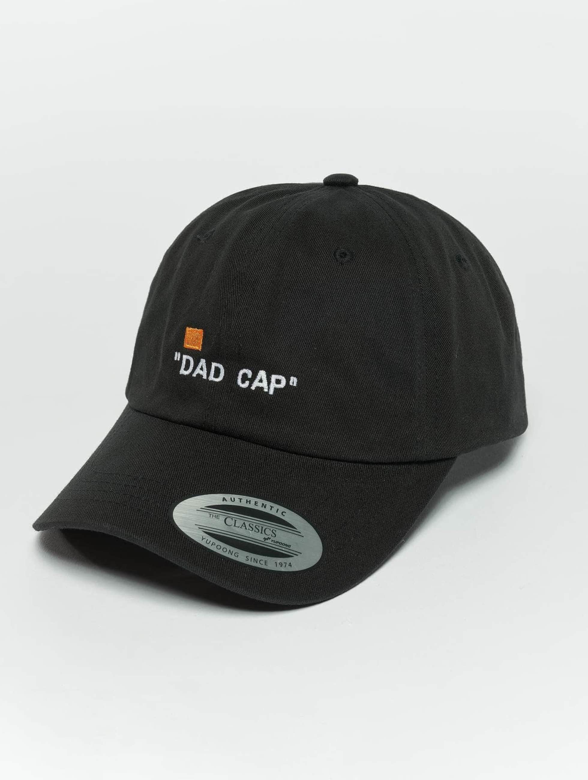 TurnUP snapback cap Dad zwart