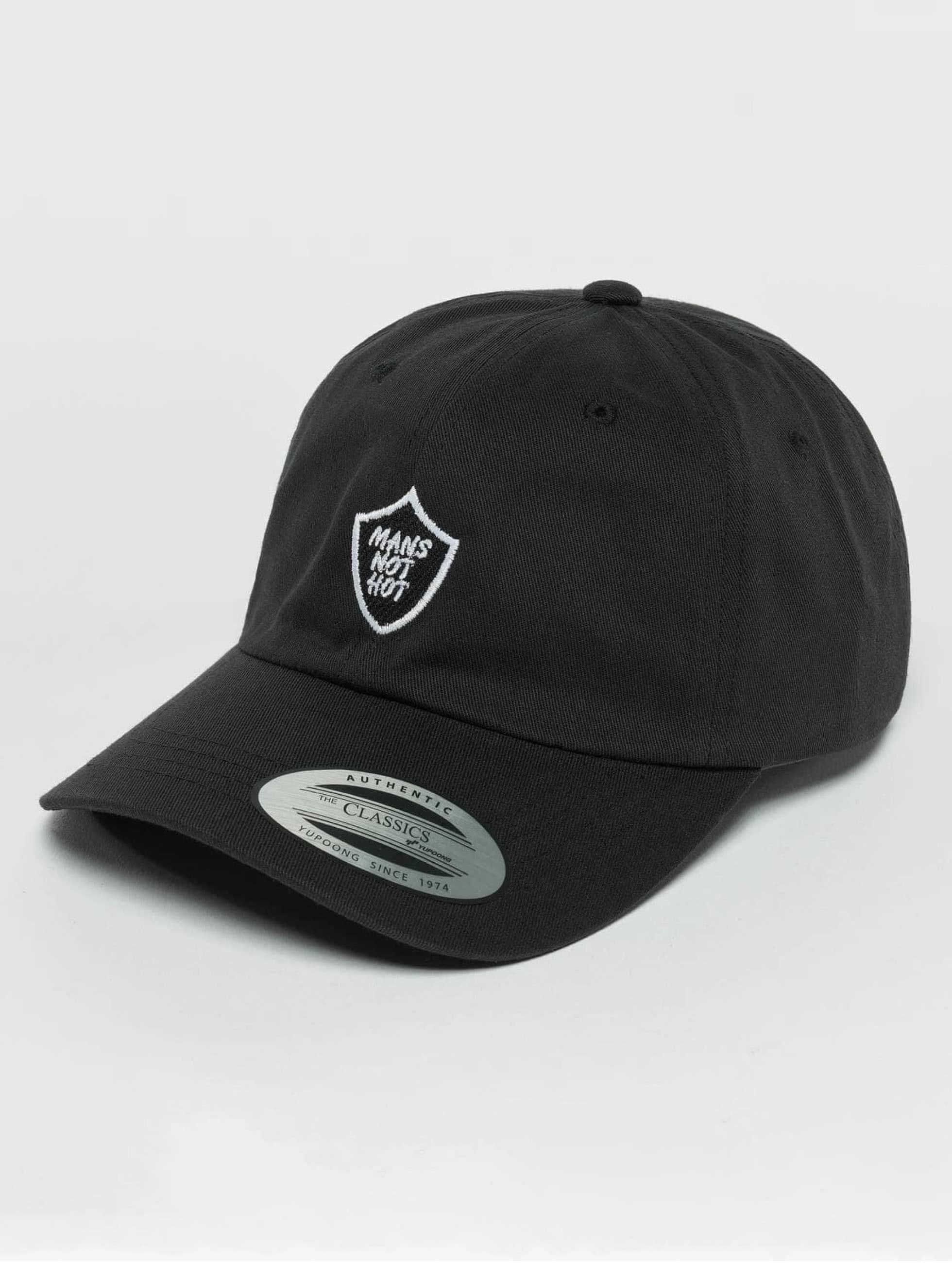 TurnUP snapback cap Not Hot zwart