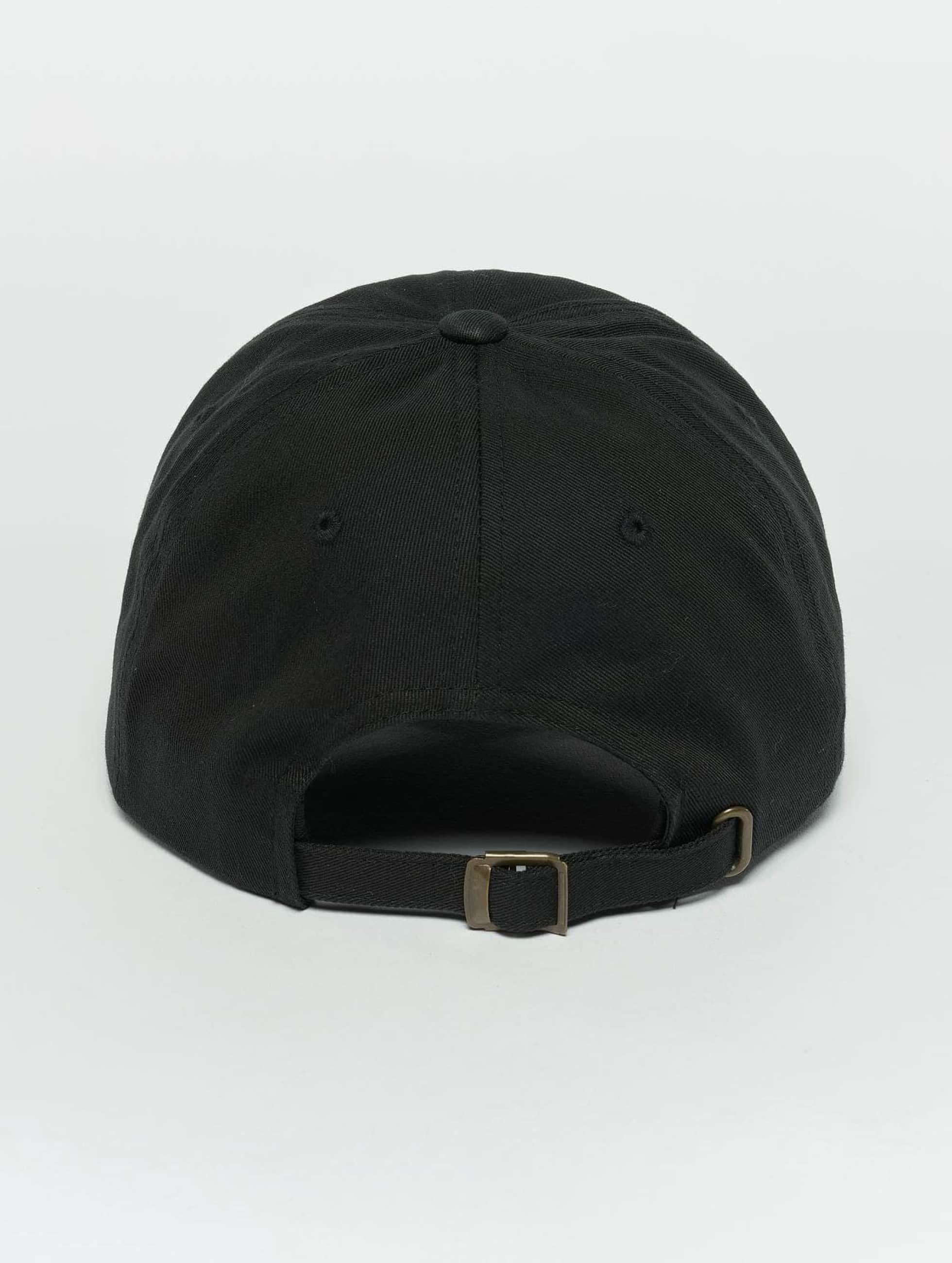 TurnUP Snapback Caps Crust musta