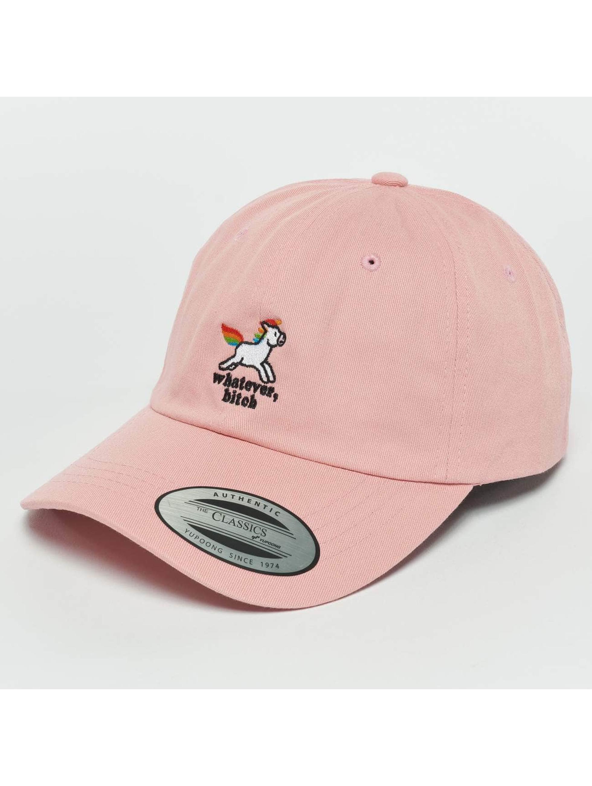 TurnUP Snapback Caps Whatever růžový