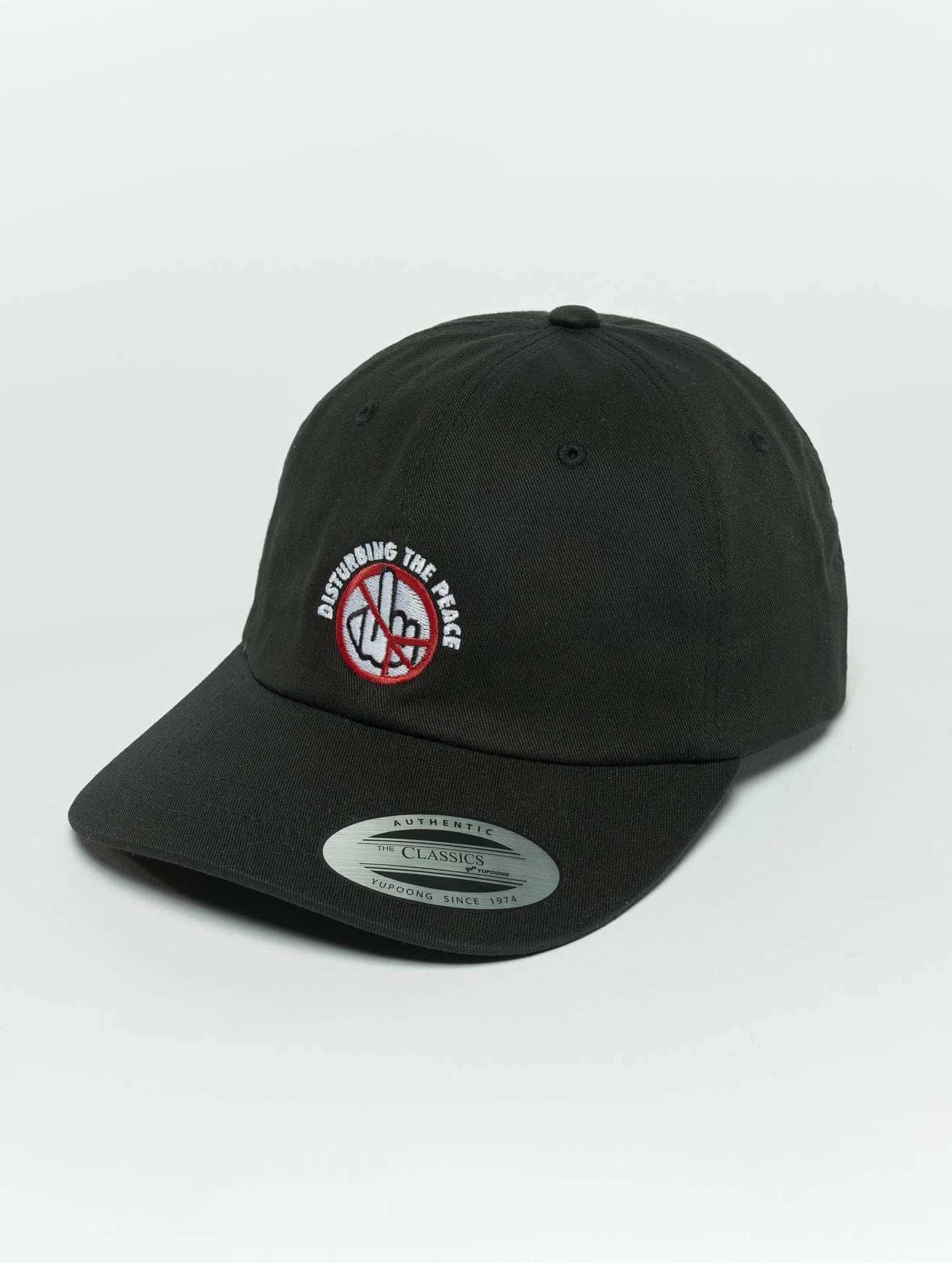 TurnUP Snapback Caps Disturbing svart