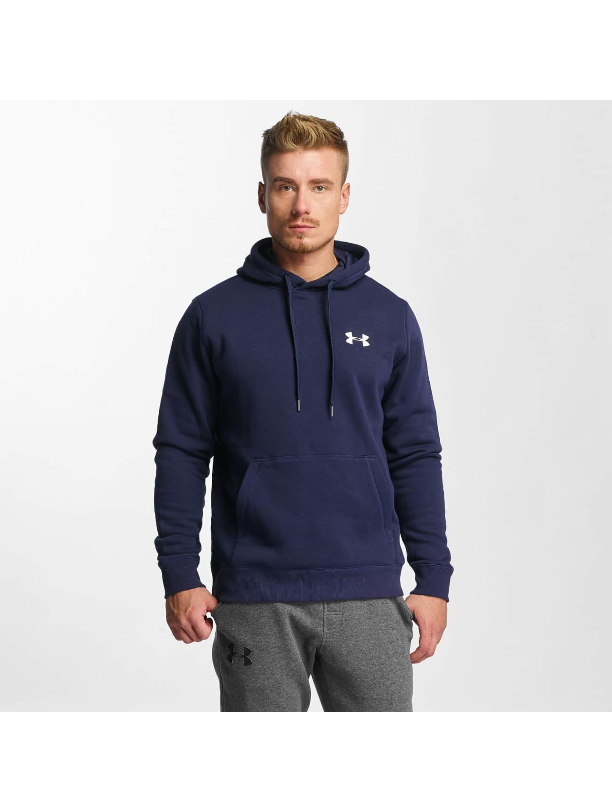 Under Armour Bluzy z kapturem Rival niebieski