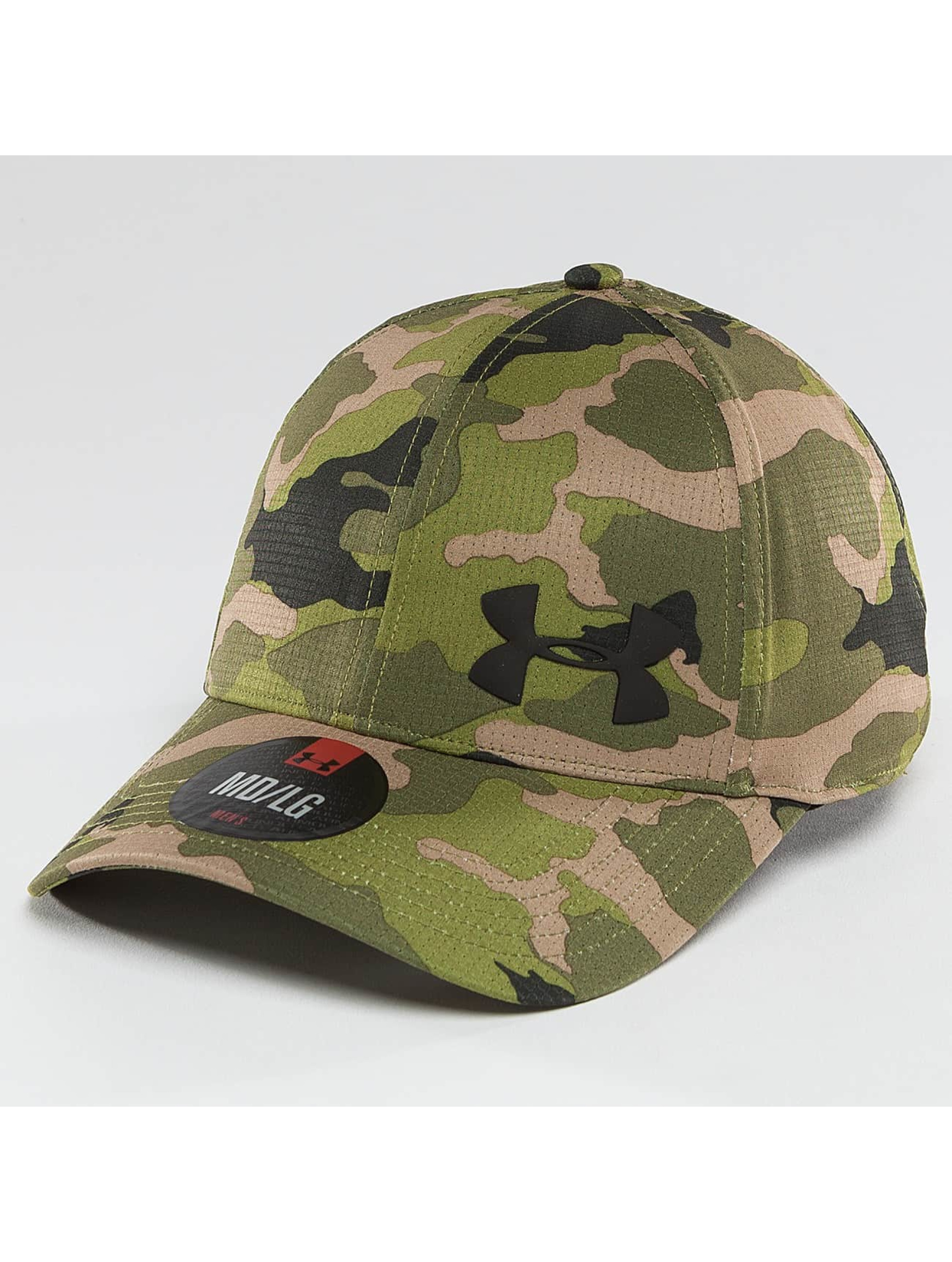 Under Armour Lastebilsjåfør- / flexfitted caps AirVent grøn
