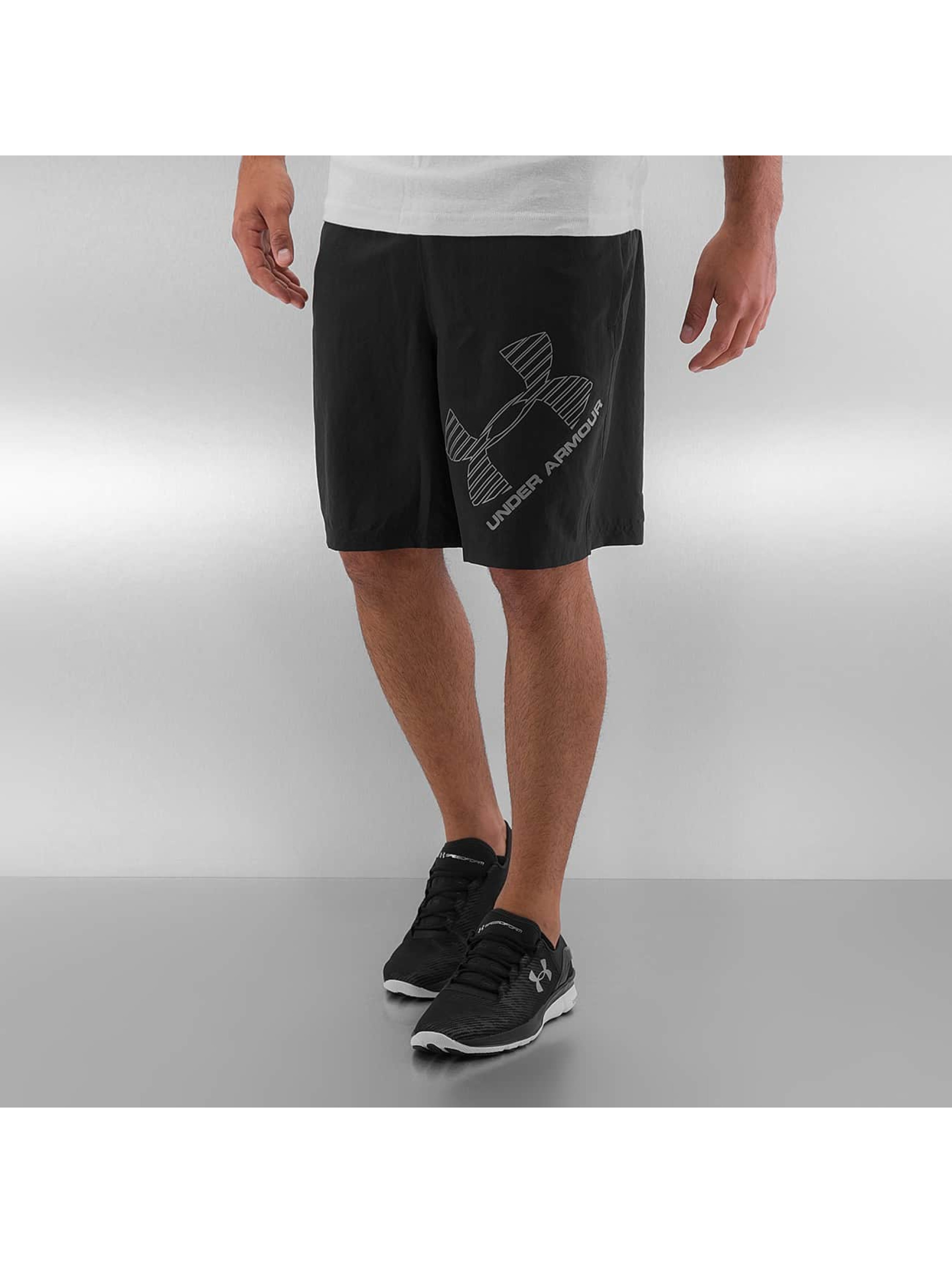 Under Armour Short Heatgear Woven Graphic noir