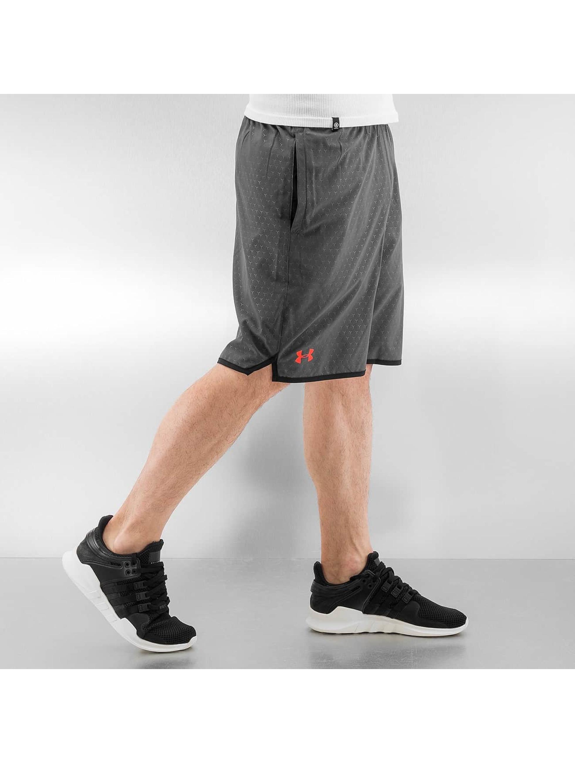 Under Armour Shorts Qualifier Novelty grau