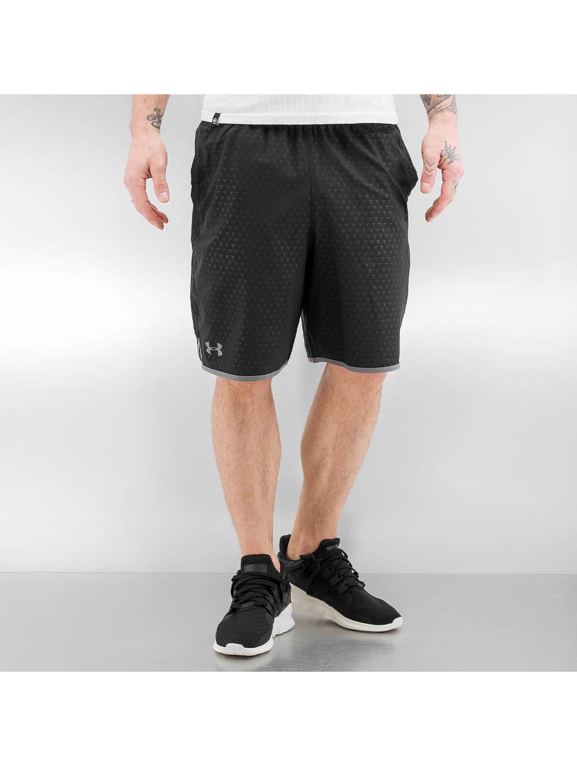 Under Armour Shorts Qualifier Novelty schwarz