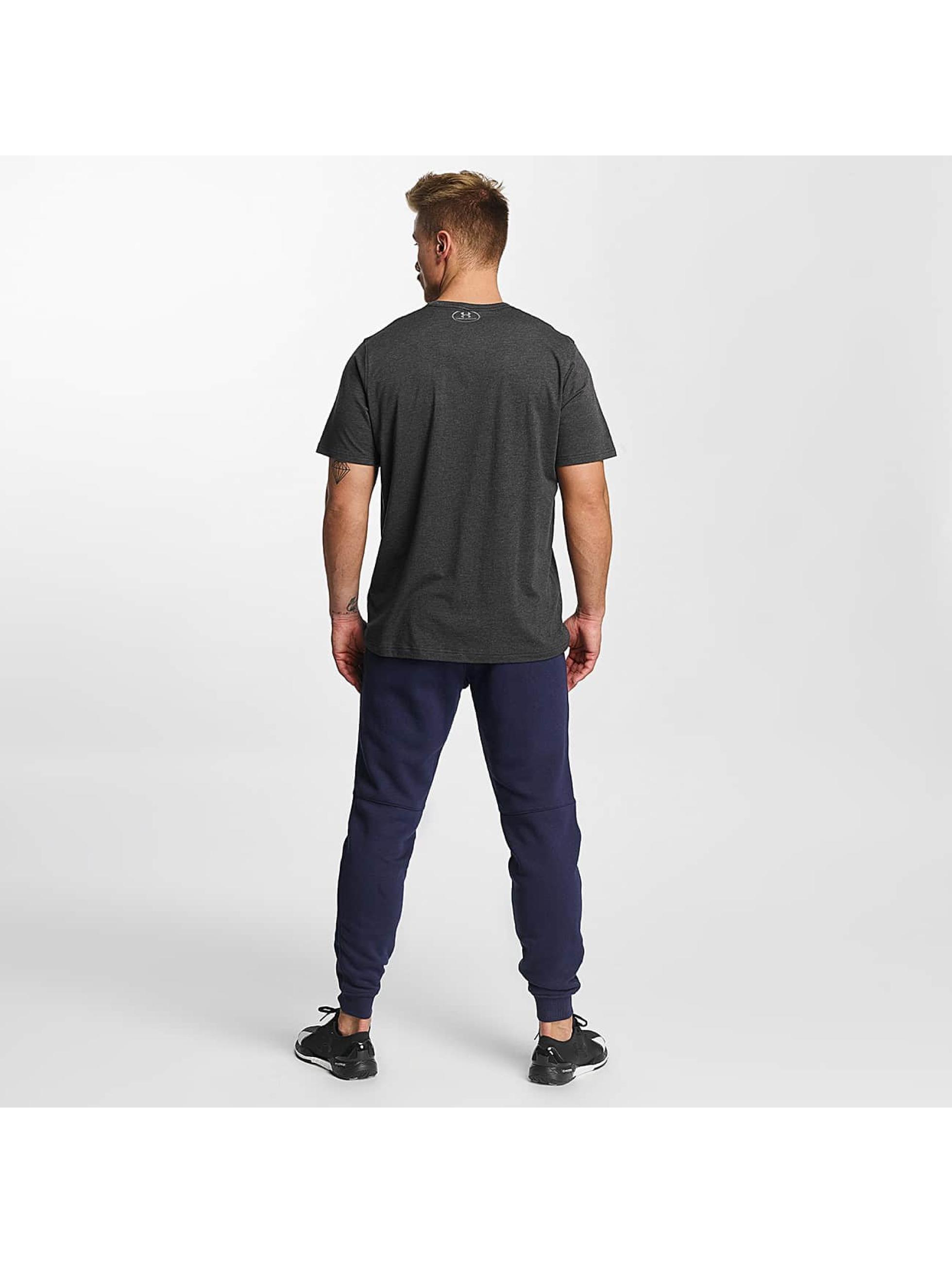 Under Armour Spodnie do joggingu Rival Cotton niebieski