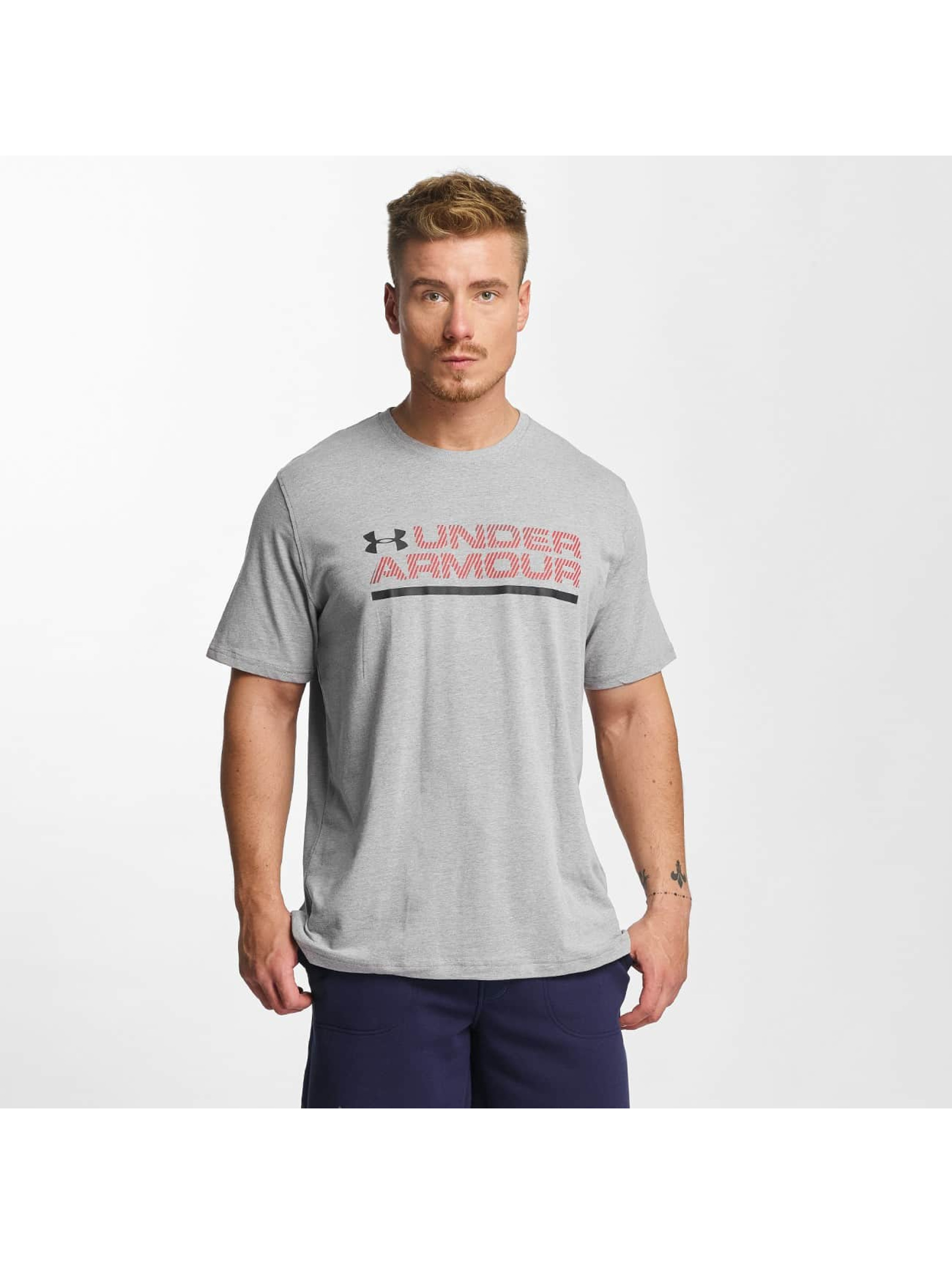 Under Armour T-Shirt Woodmark Lock Up grau
