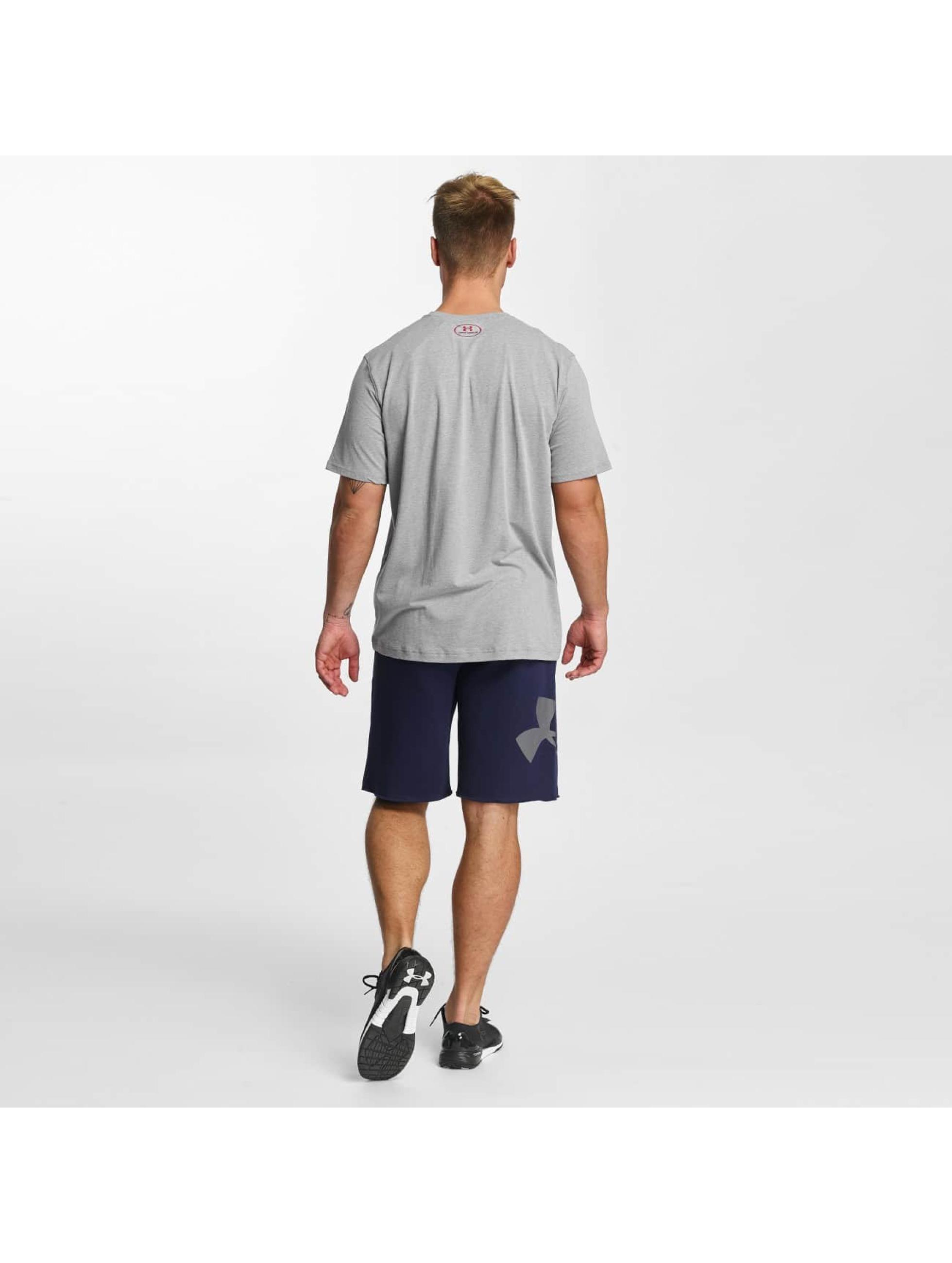 Under Armour T-Shirt Woodmark Lock Up gray
