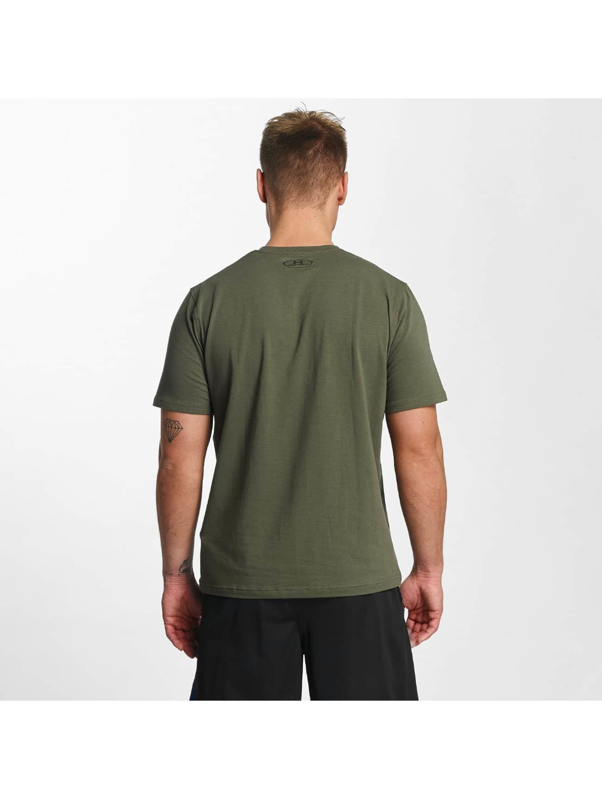 Under Armour T-Shirt Woodmark Lock Up green