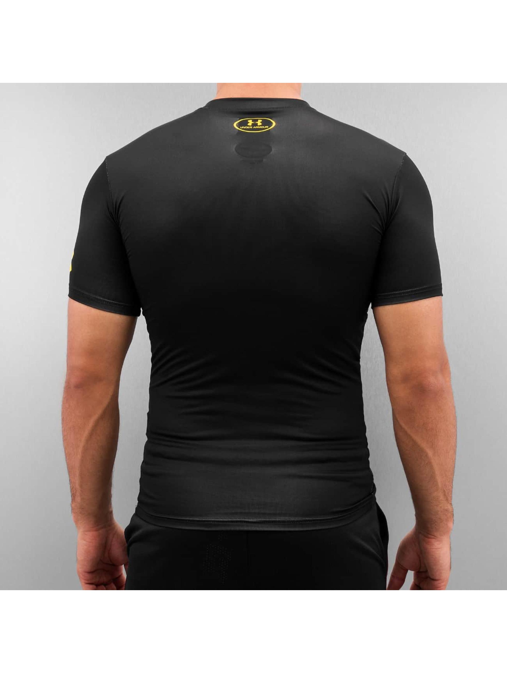 Under Armour T-shirt Alter Ego Batman Compression svart
