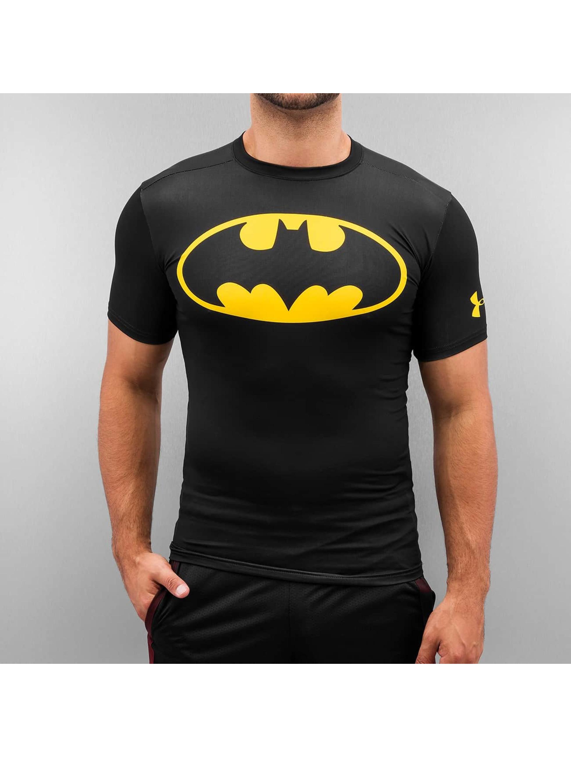 Under Armour t-shirt Alter Ego Batman Compression zwart