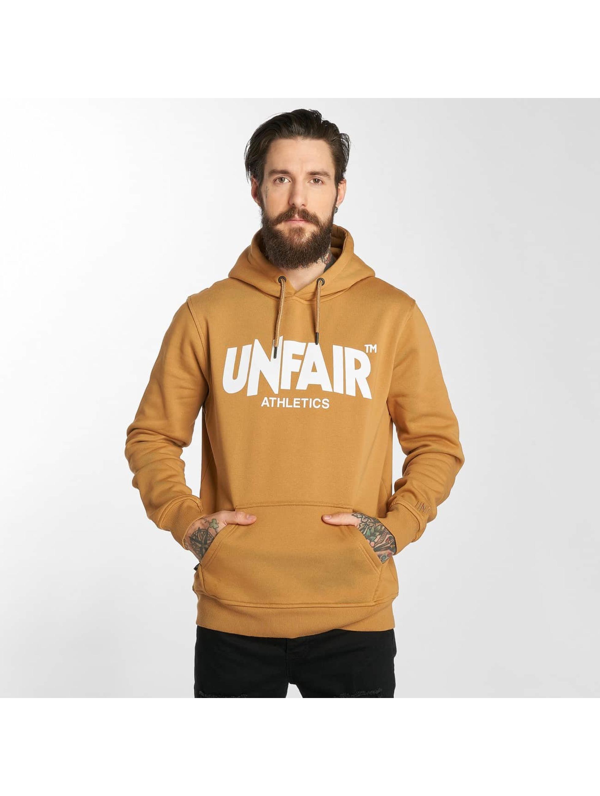 UNFAIR ATHLETICS Hupparit Classic Label ruskea