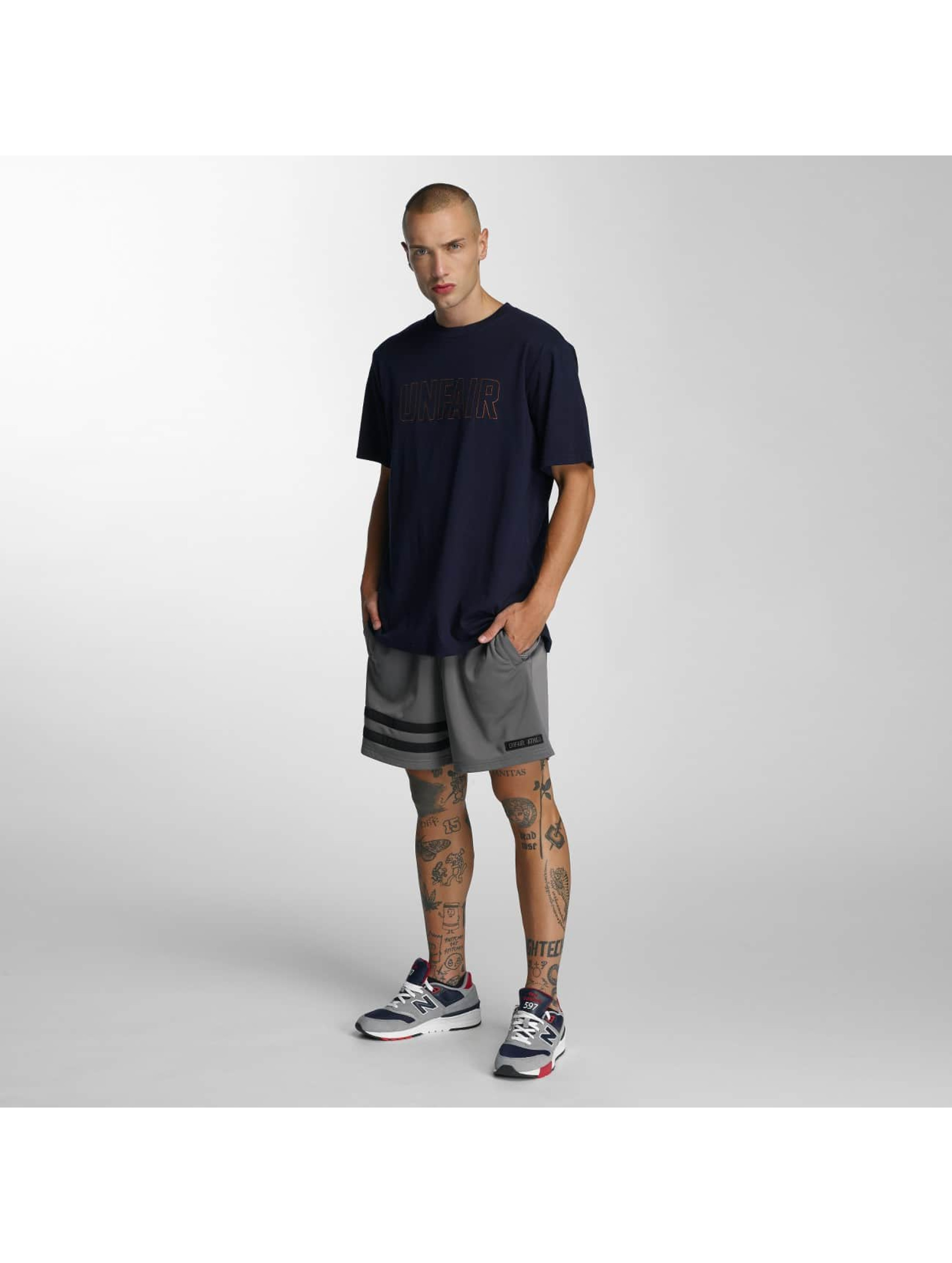 UNFAIR ATHLETICS T-Shirt Sealed blue