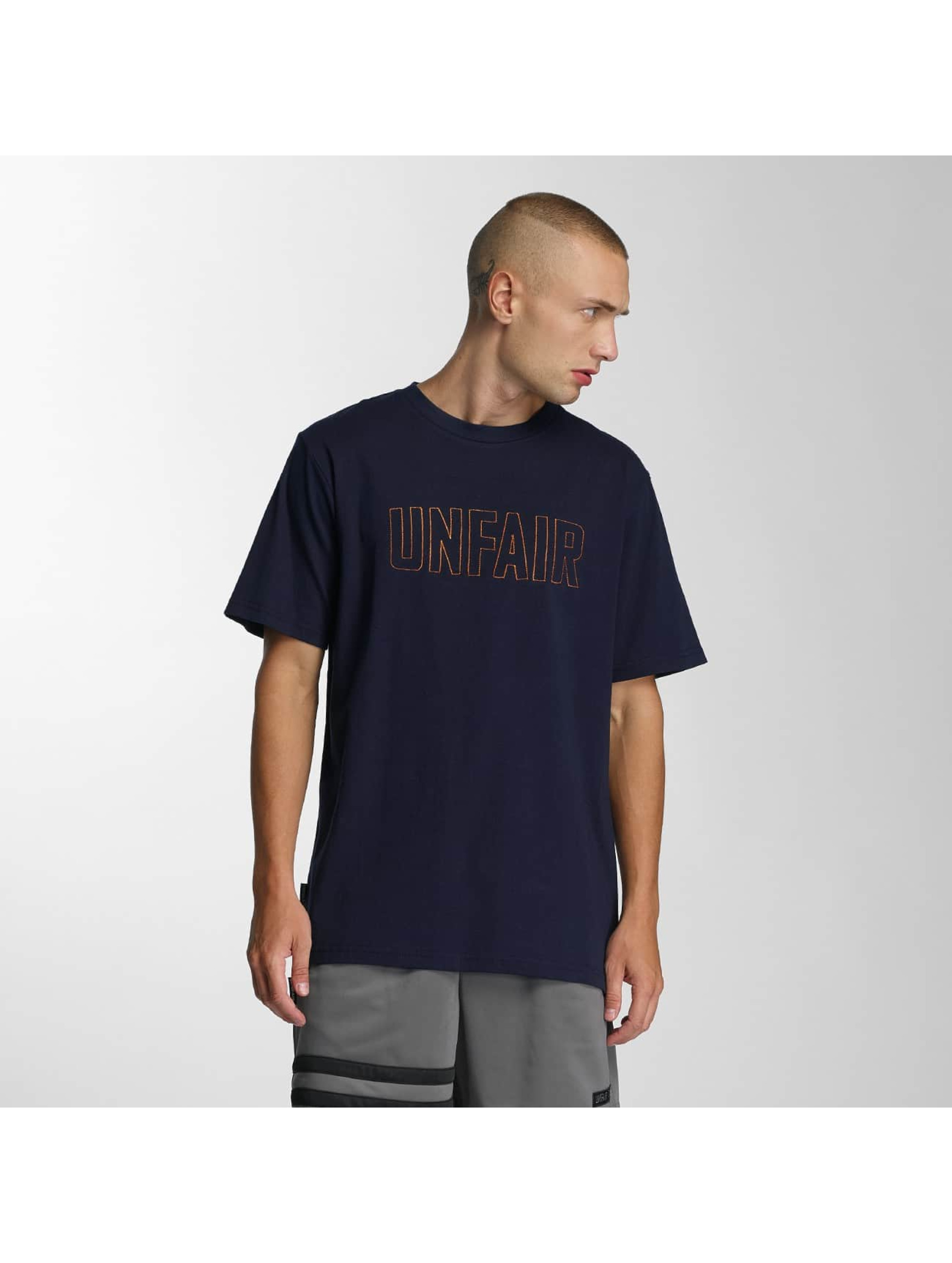 UNFAIR ATHLETICS T-Shirty Sealed niebieski