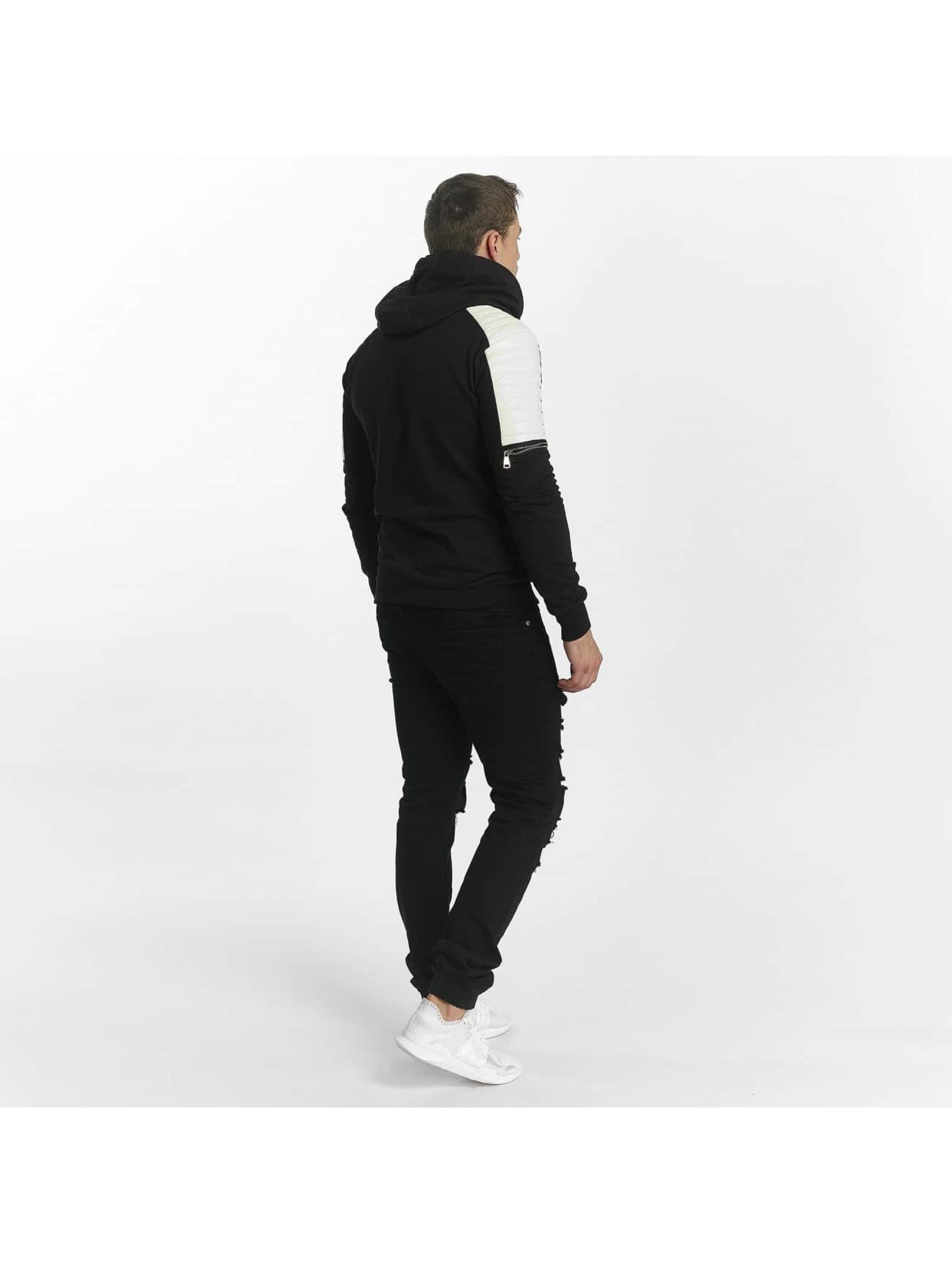 Uniplay Bluzy z kapturem Biker czarny