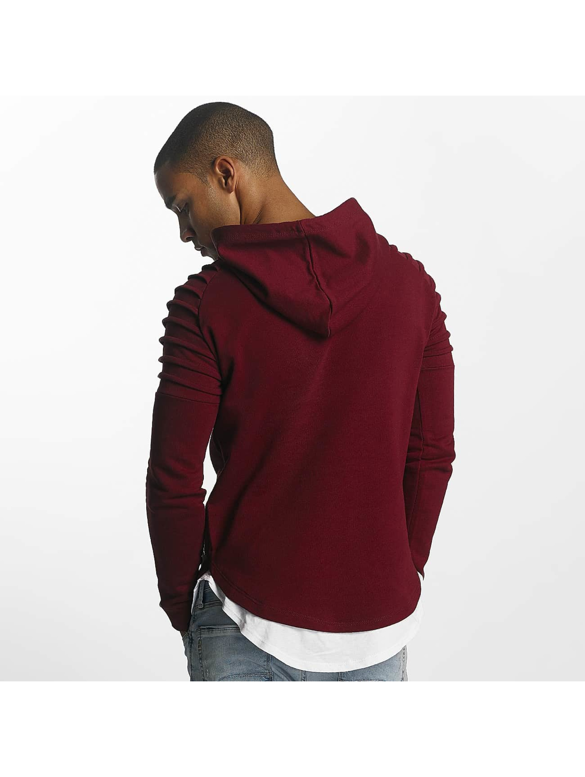 Uniplay Bluzy z kapturem Ripped czerwony