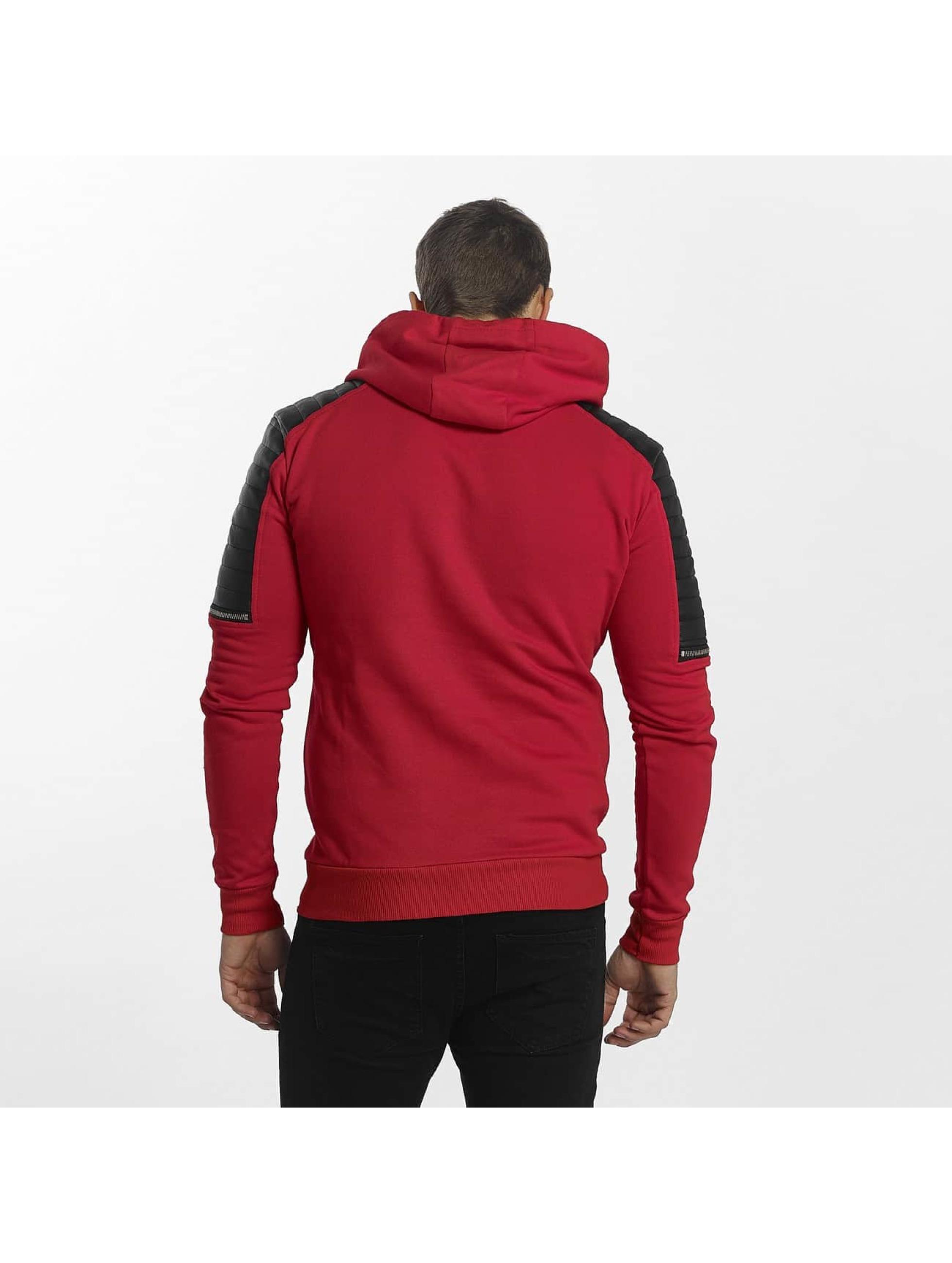 Uniplay Bluzy z kapturem Biker czerwony