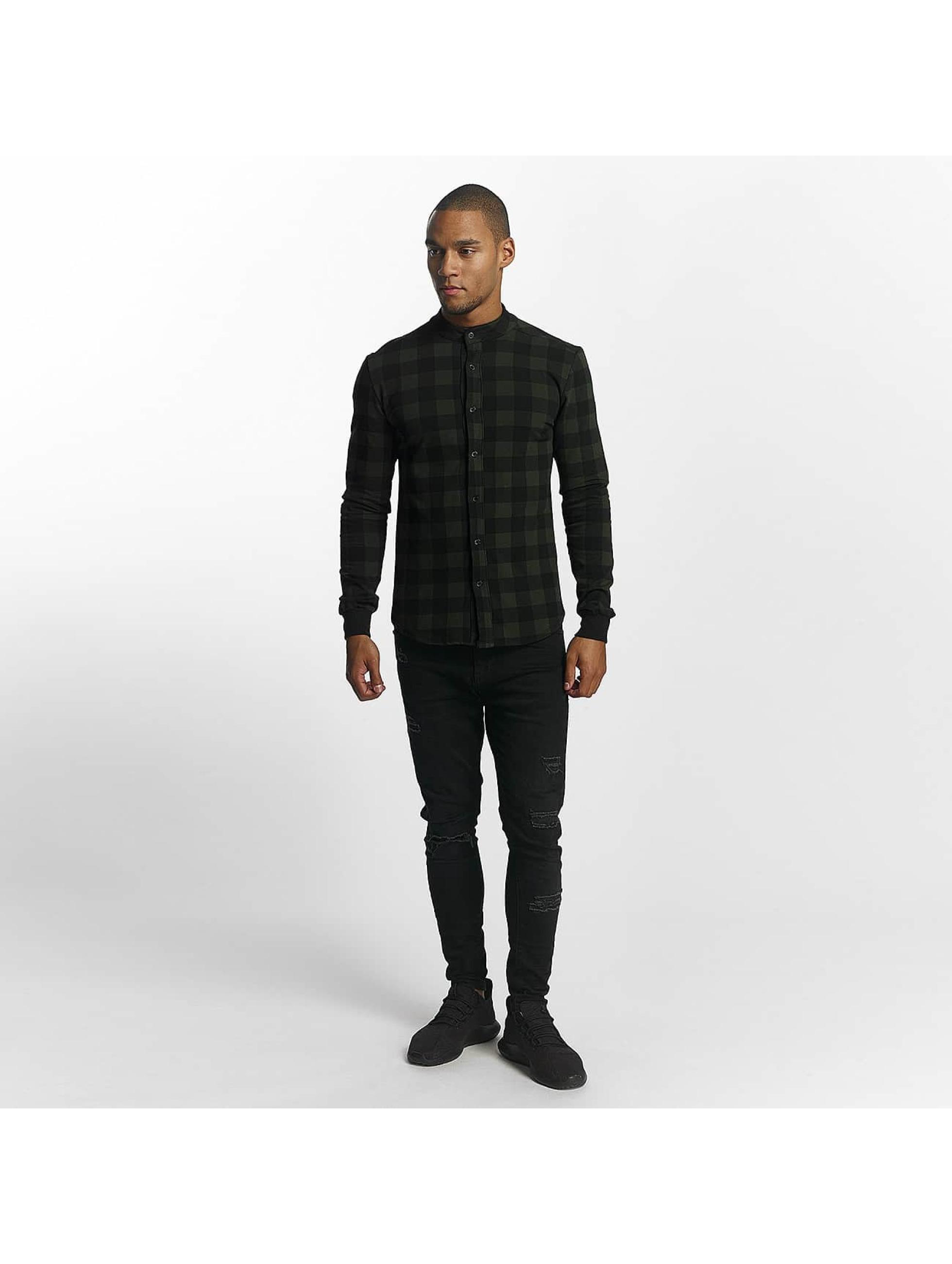 Uniplay Chemise Checkered kaki