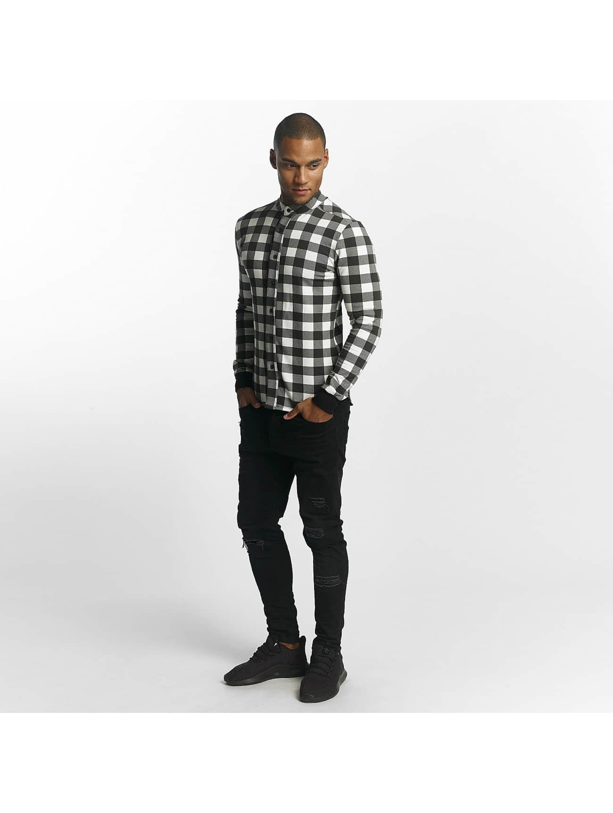 Uniplay Chemise Checkered noir