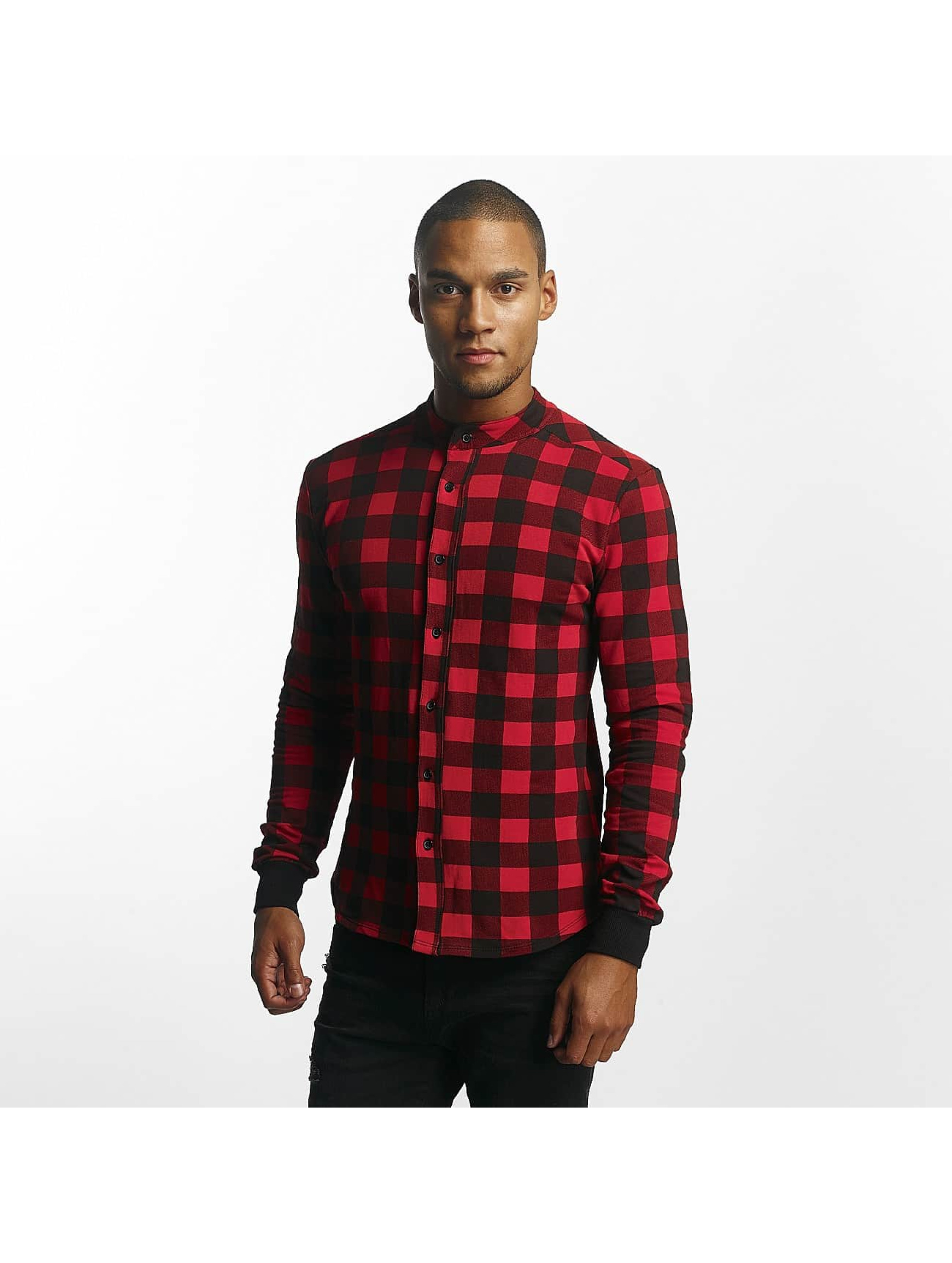 Uniplay Chemise Checkered rouge
