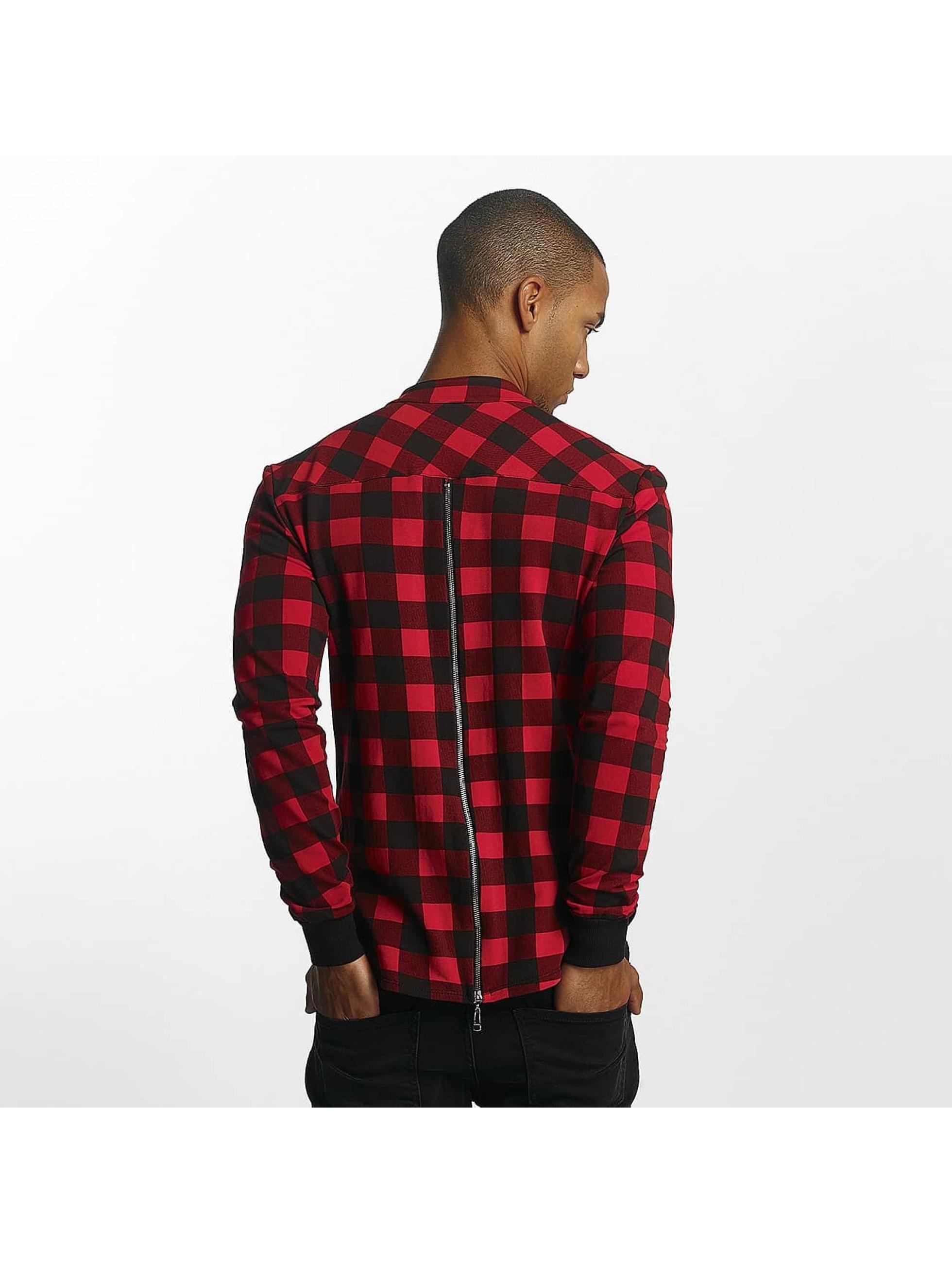 Uniplay Kauluspaidat Checkered punainen