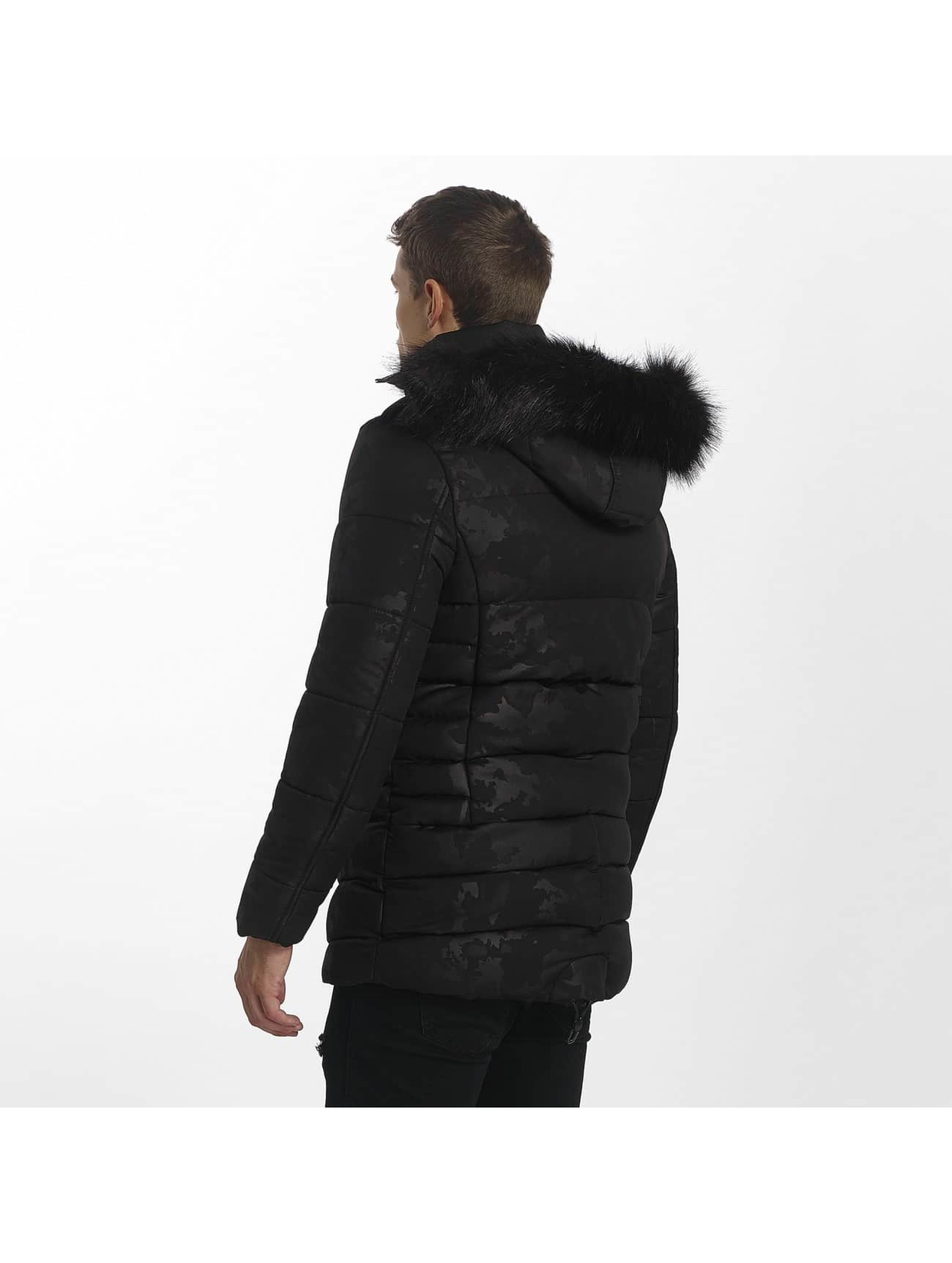 Uniplay Manteau hiver Down noir