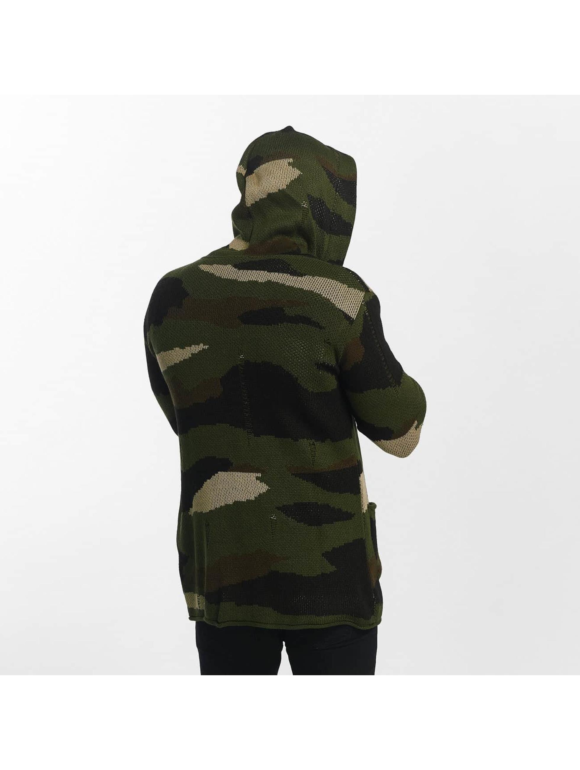 Uniplay Strickjacke Vest camouflage
