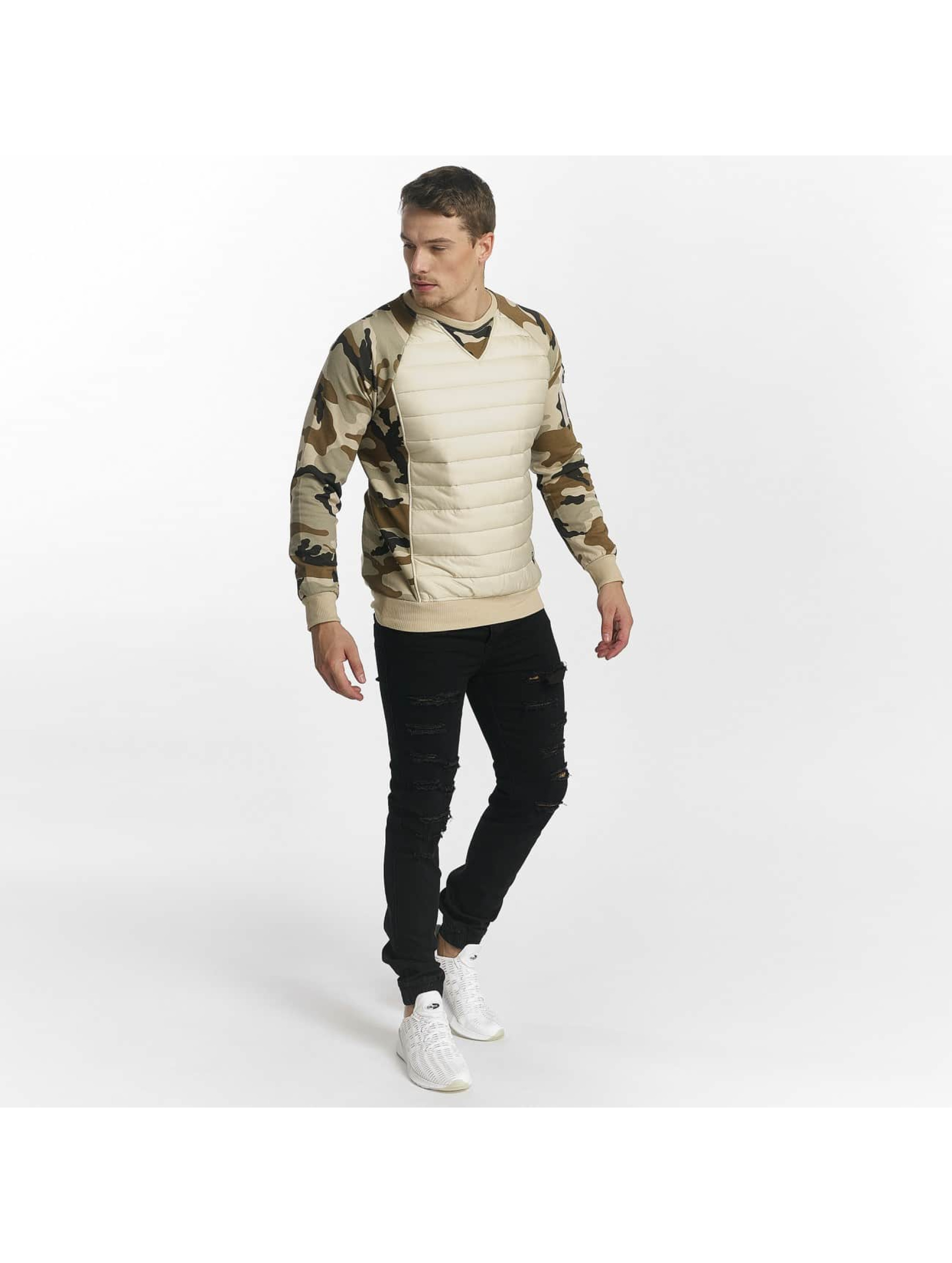 Uniplay Sweat & Pull Camo beige