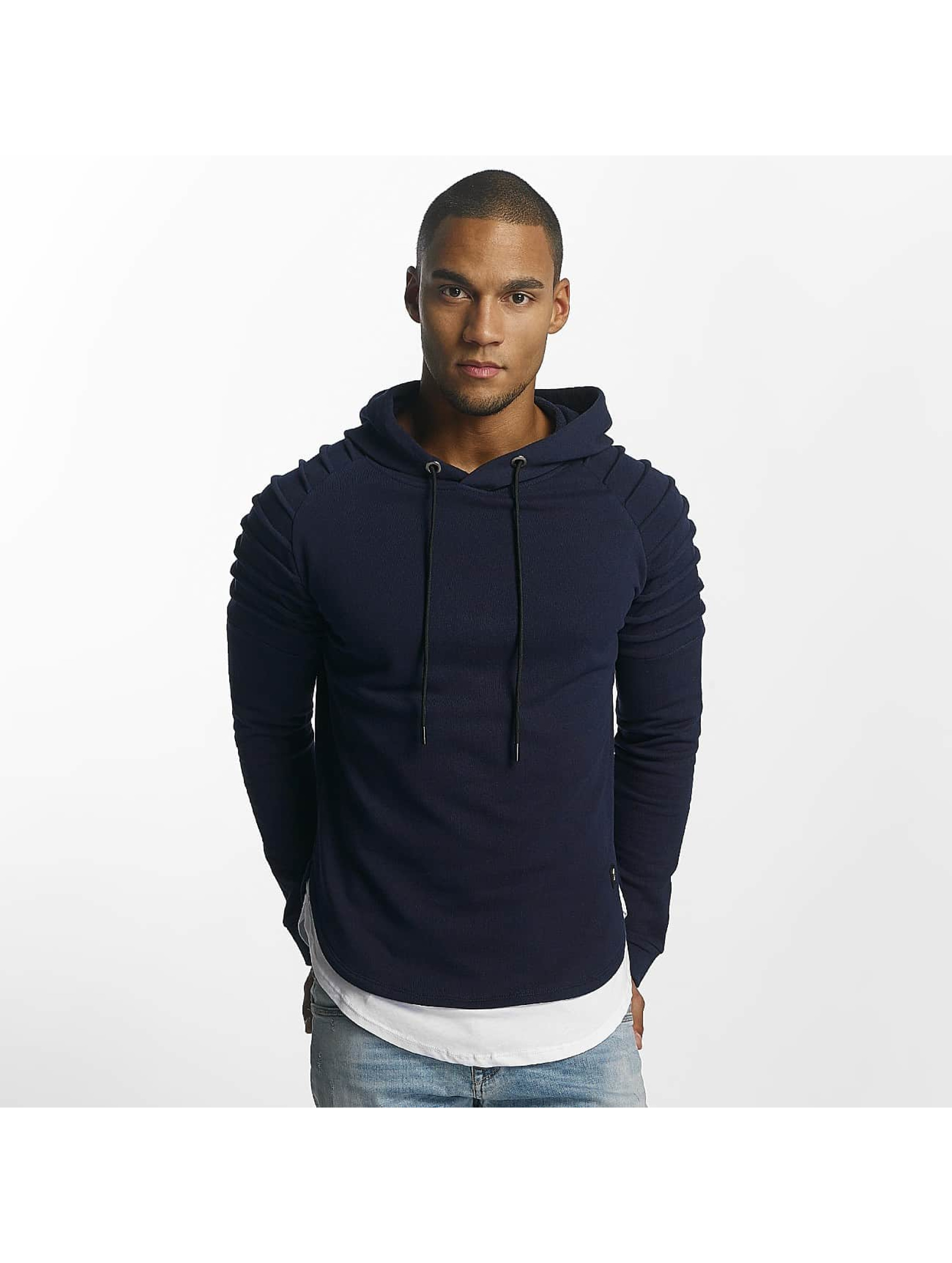 Uniplay Sweat capuche Ripped bleu