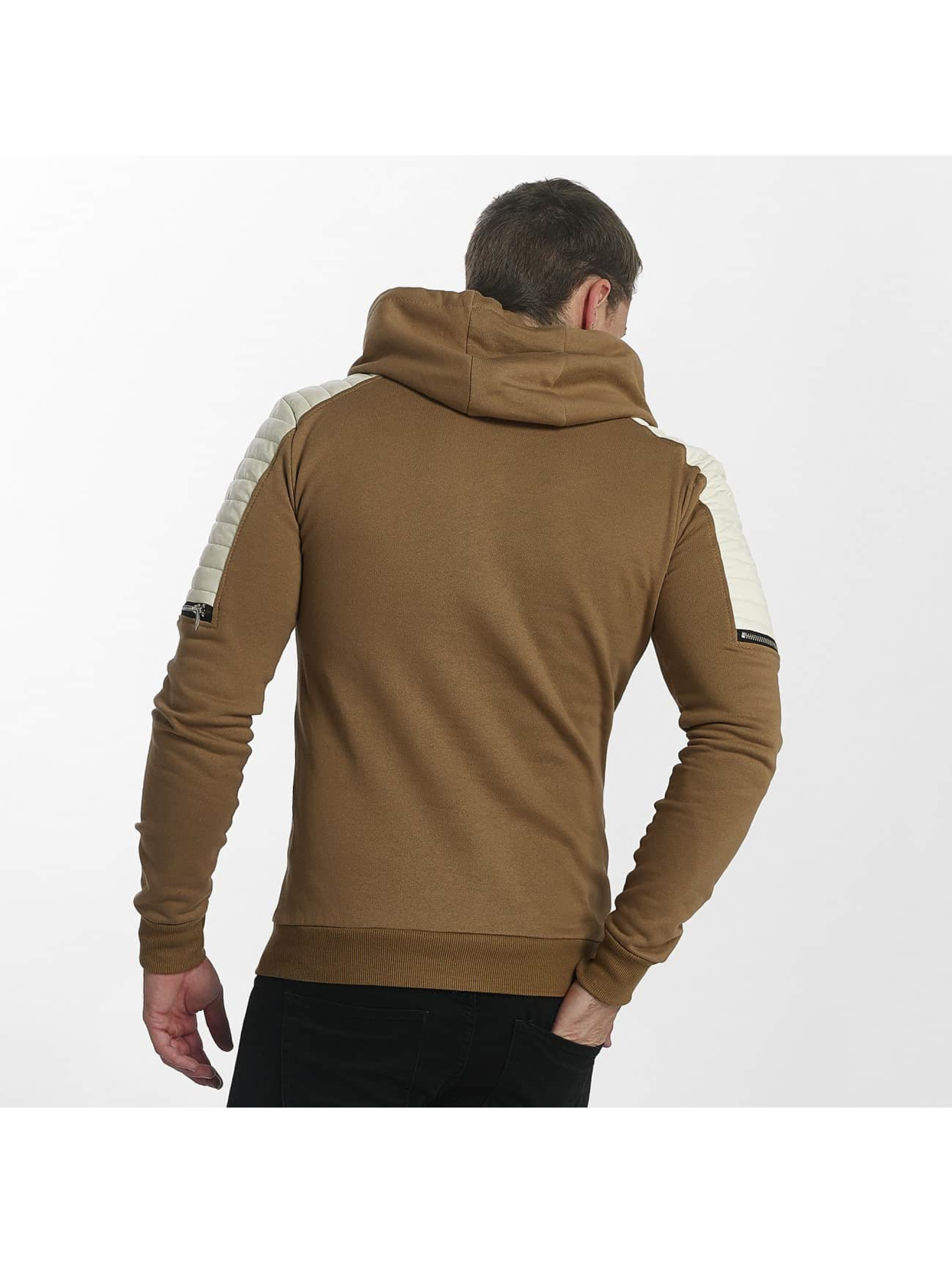 Uniplay Sweat capuche Biker brun