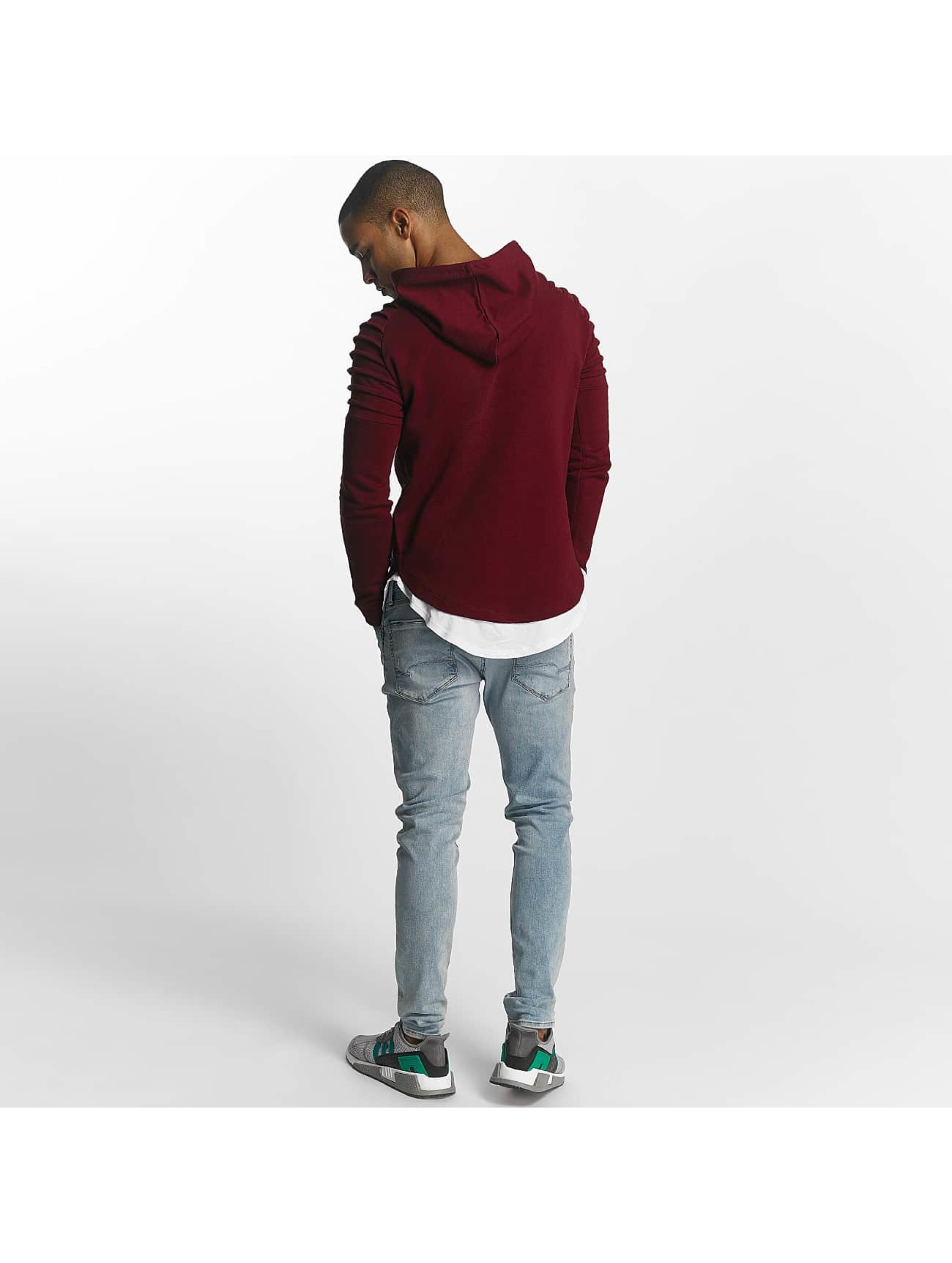 Uniplay Sweat capuche Ripped rouge