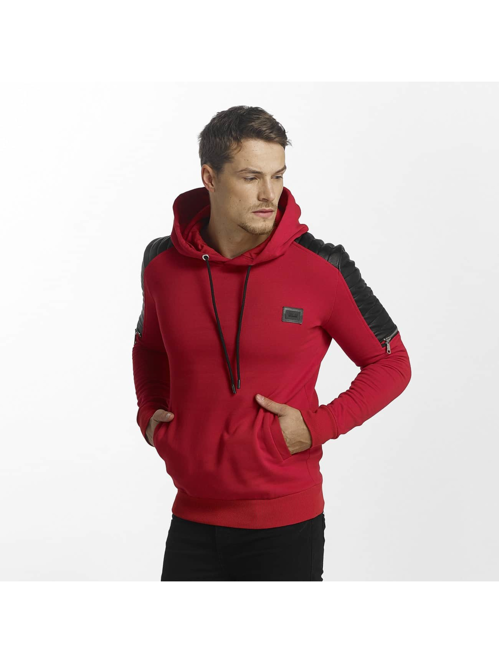Uniplay Sweat capuche Biker rouge