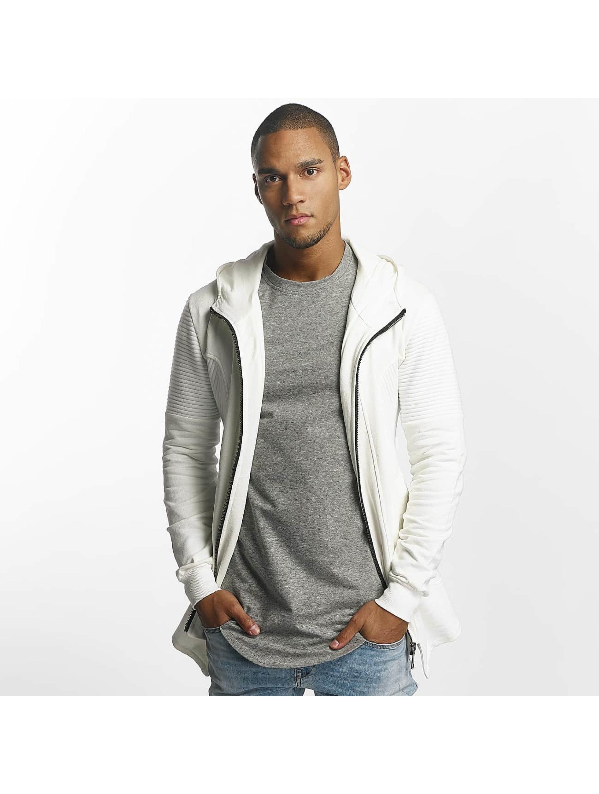 Uniplay Sweat capuche zippé Zipper blanc