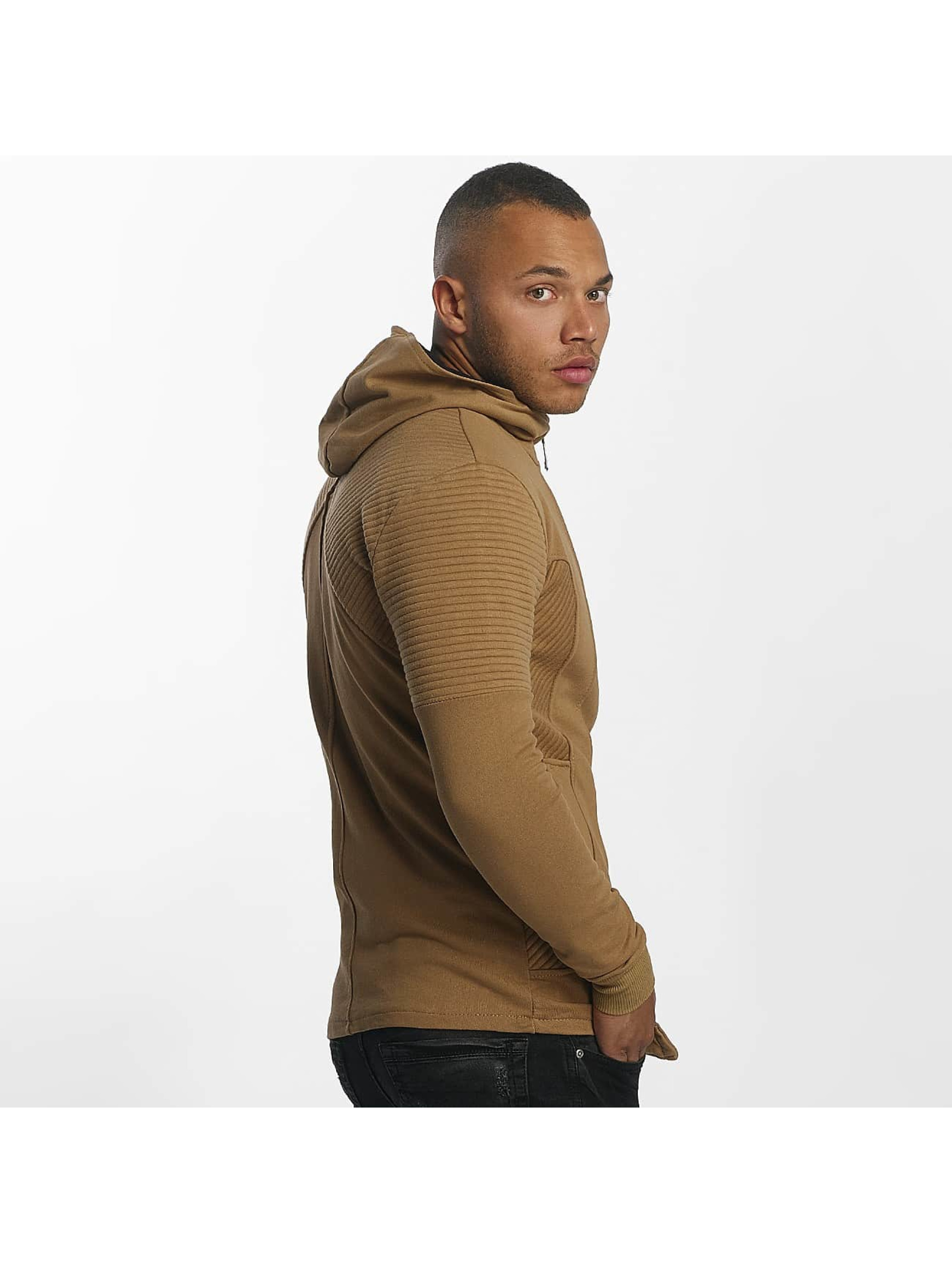 Uniplay Sweat capuche zippé Henry brun