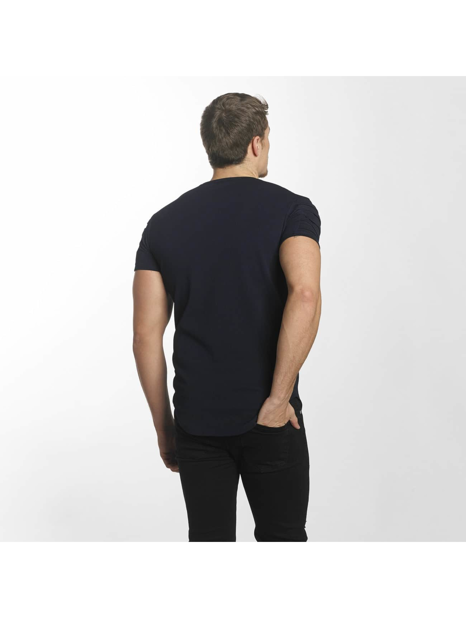 Uniplay T-Shirt Embossed blau