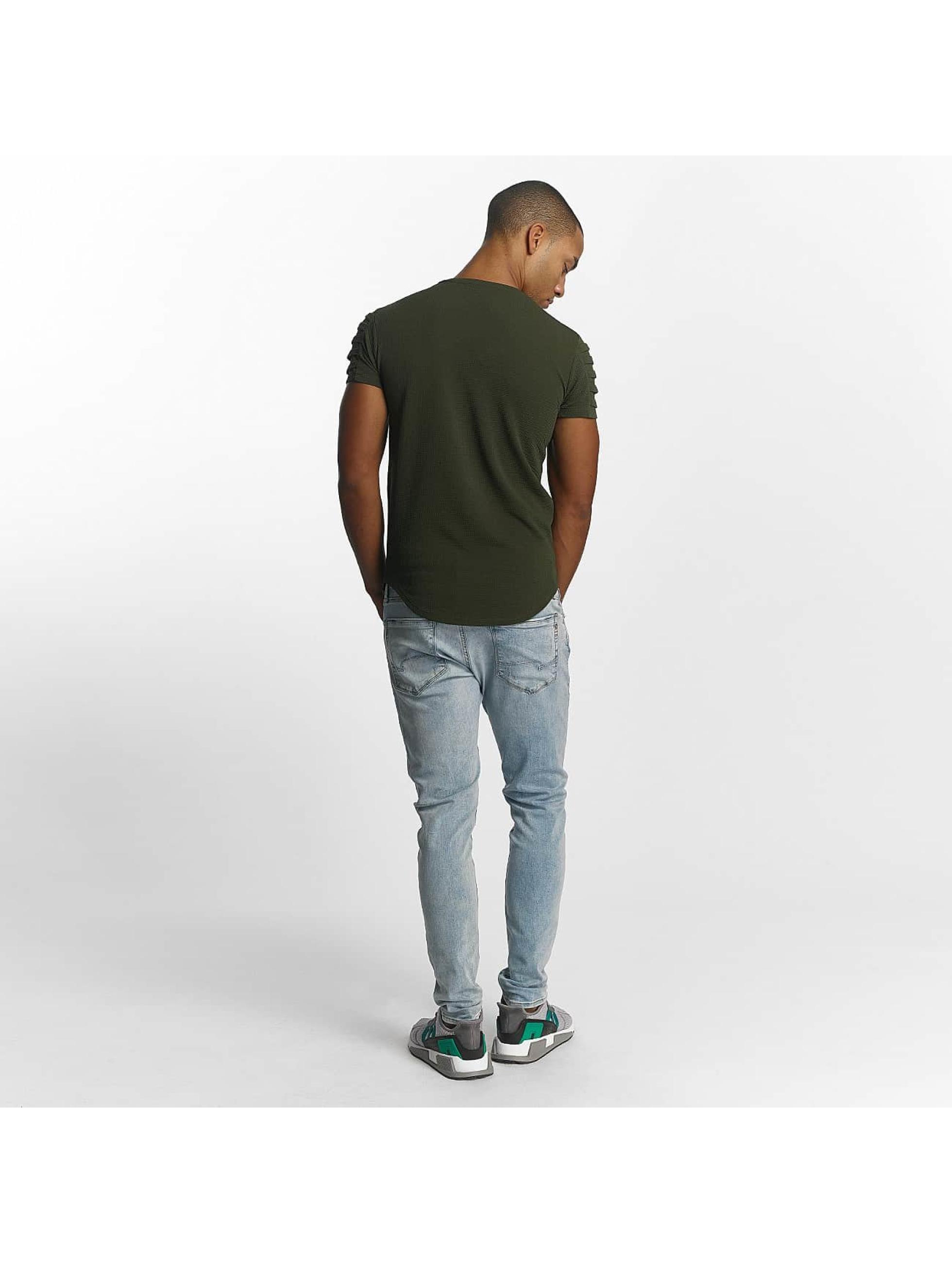 Uniplay T-Shirt Embossed kaki