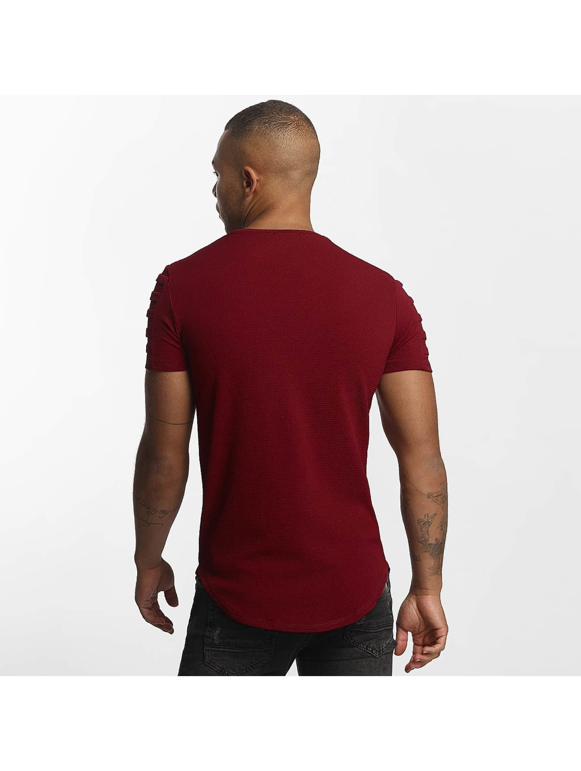 Uniplay t-shirt Embossed rood