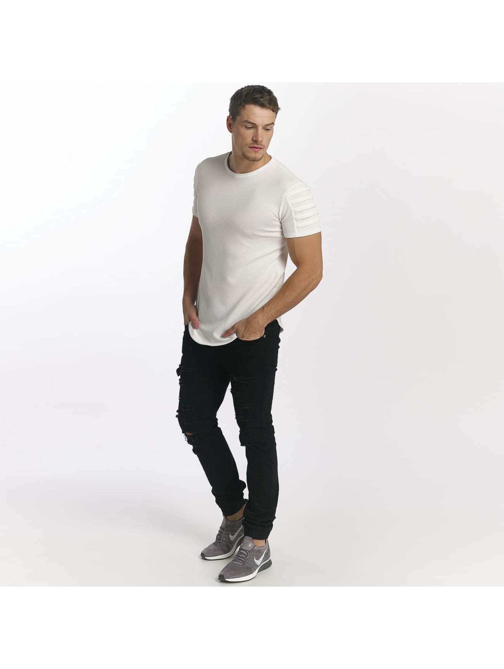 Uniplay T-Shirt Embossed weiß