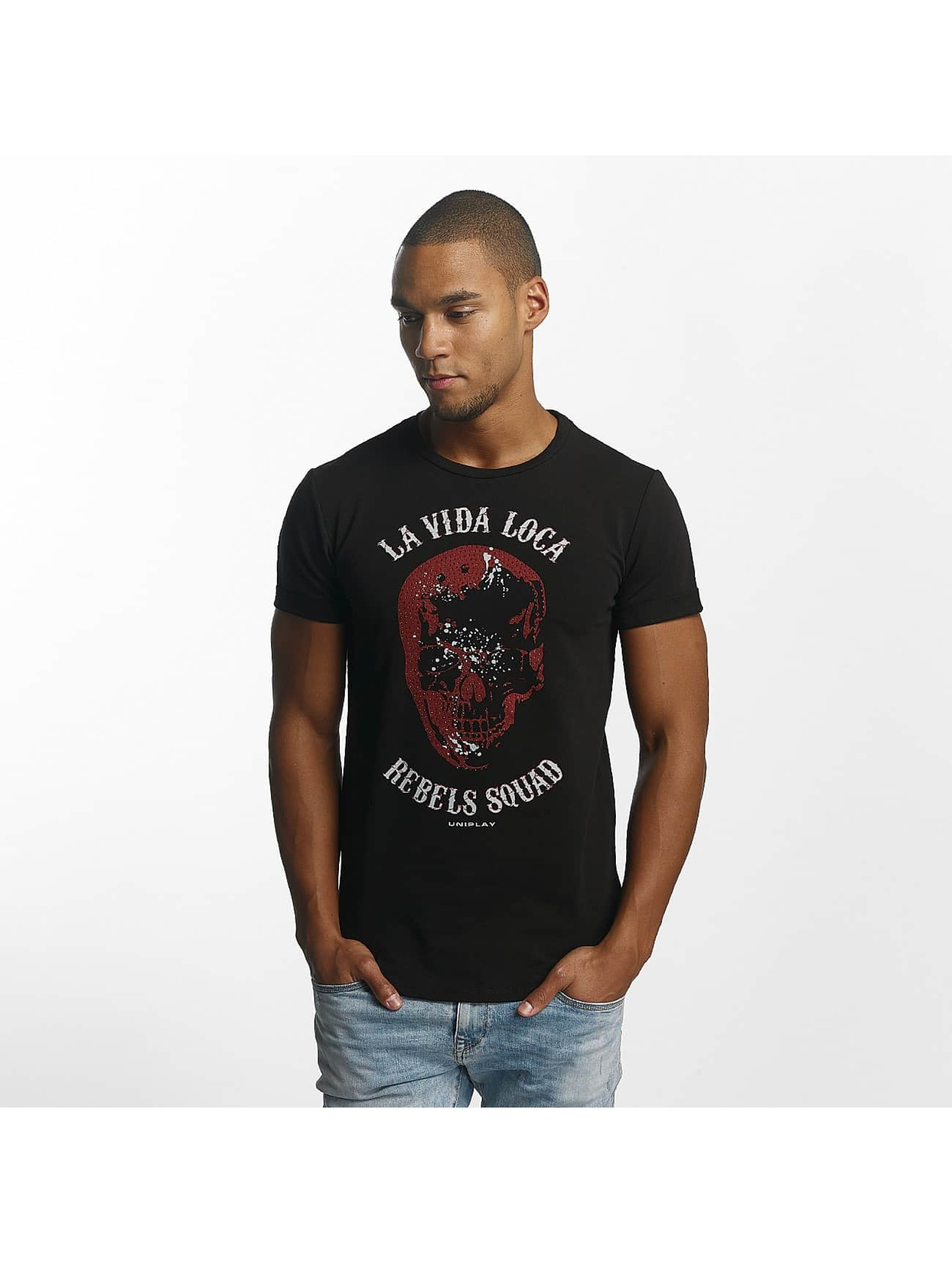 Uniplay t-shirt Rebels Squad zwart