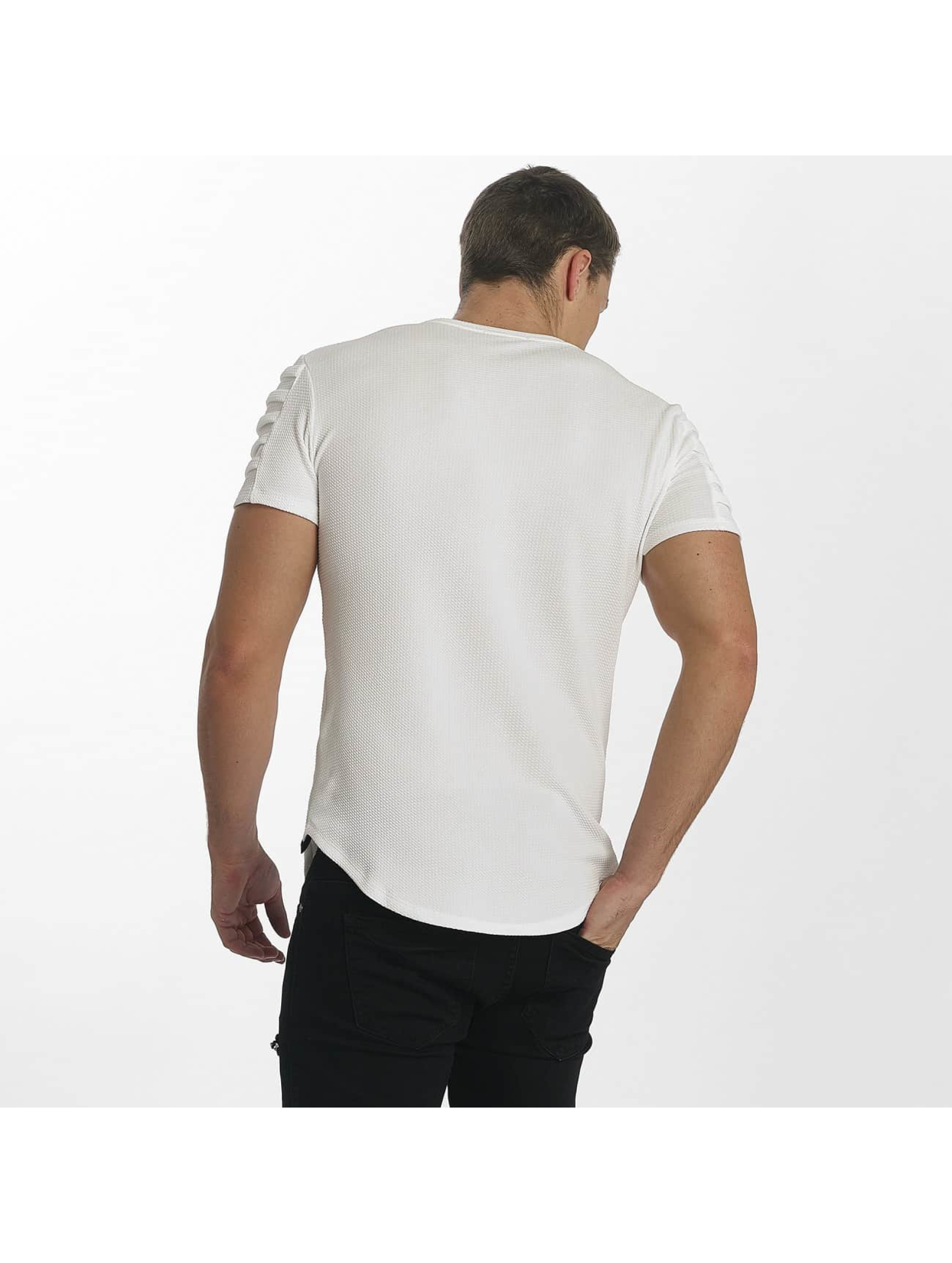 Uniplay T-Shirty Embossed bialy