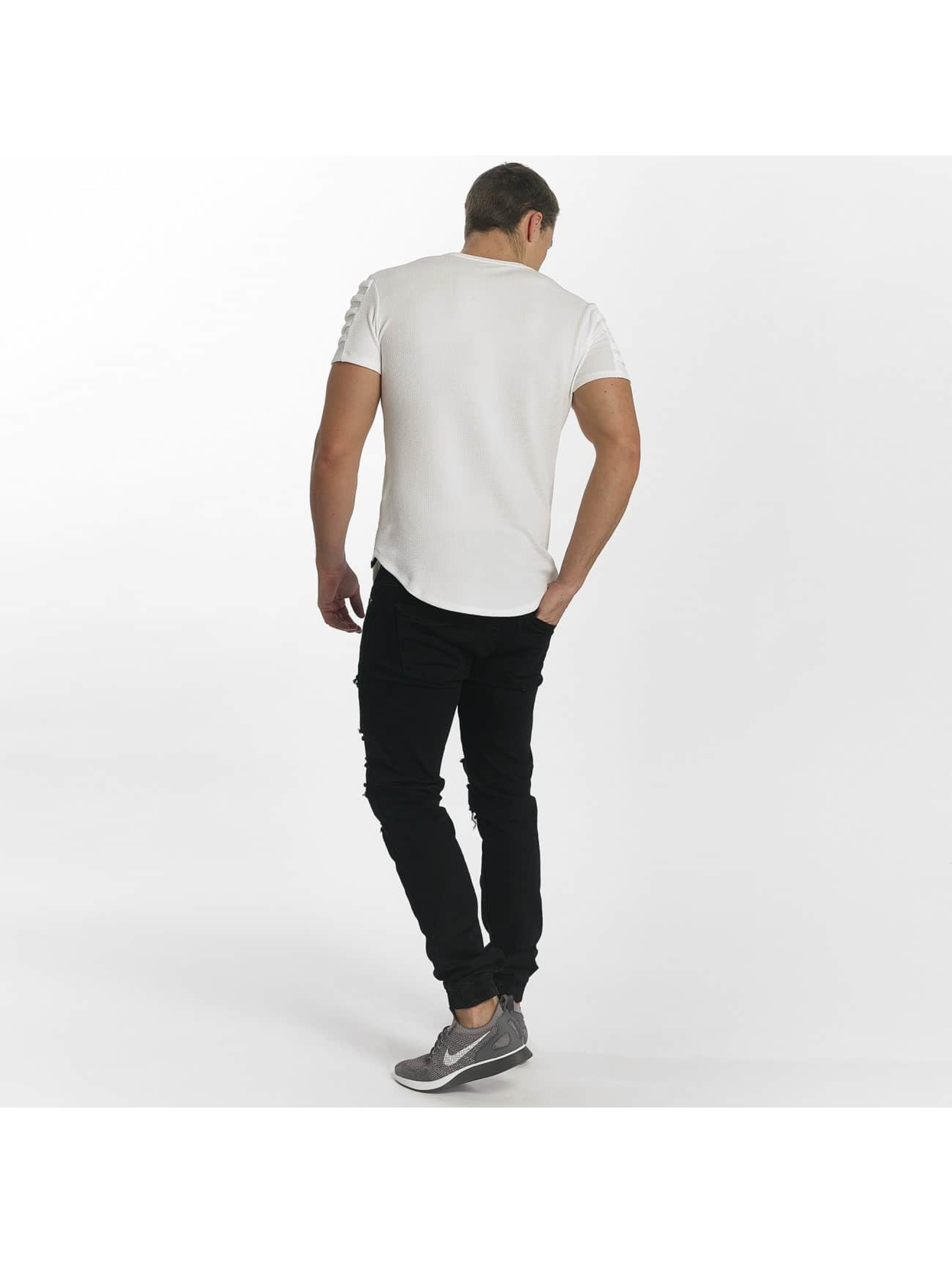 Uniplay T-skjorter Embossed hvit