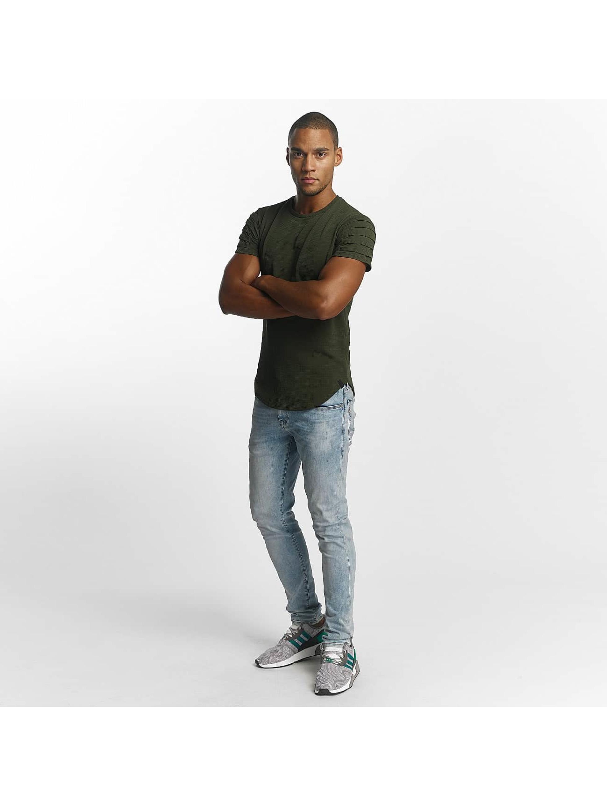 Uniplay T-skjorter Embossed khaki