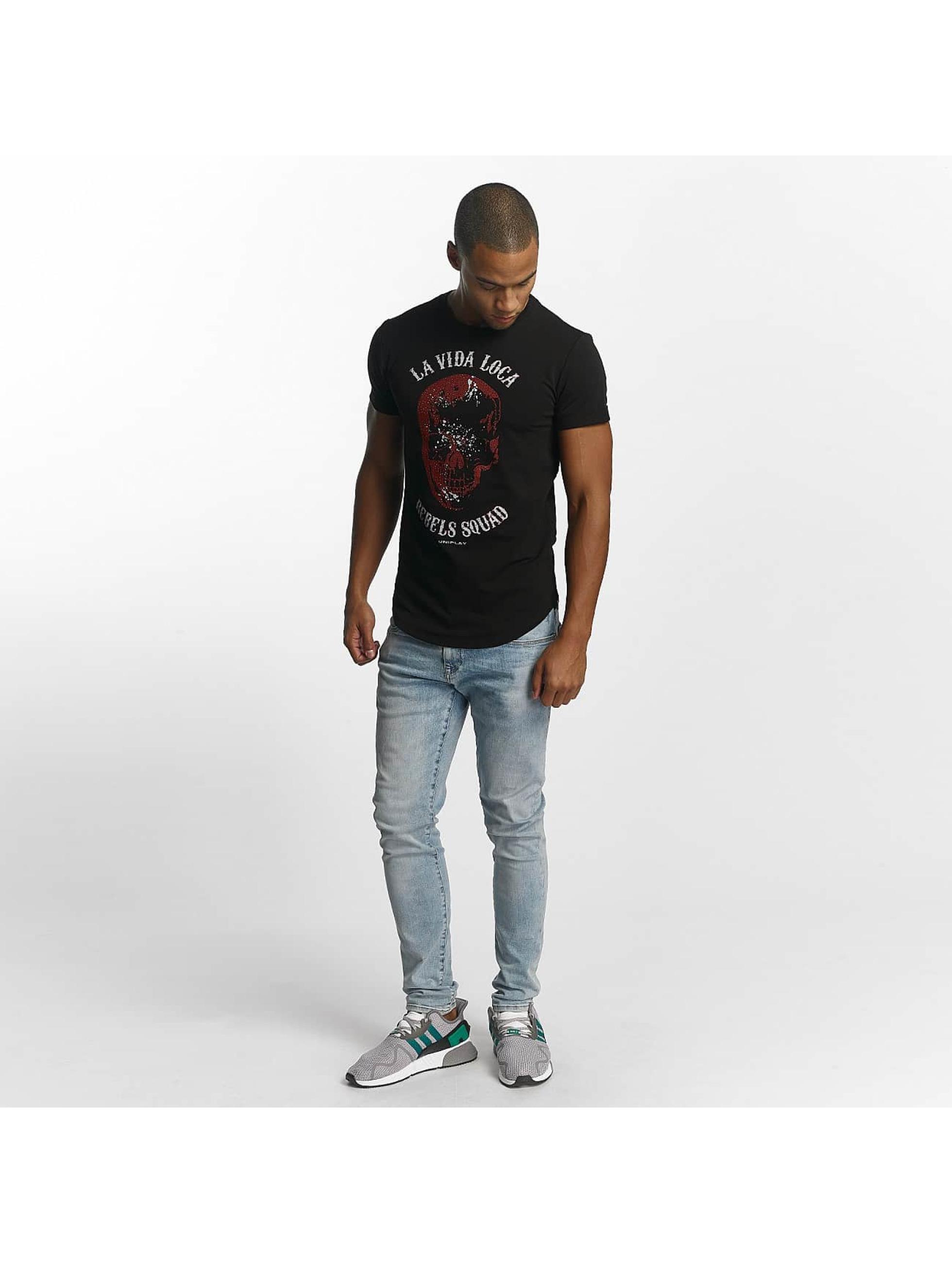 Uniplay T-skjorter Rebels Squad svart