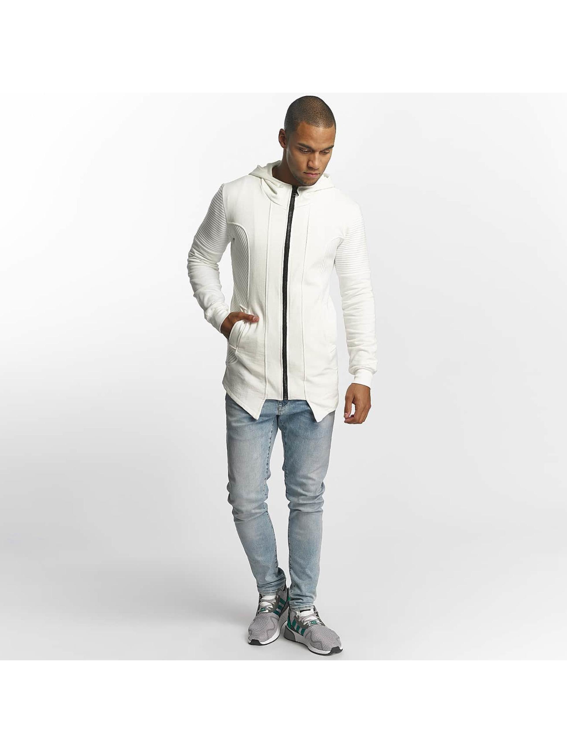Uniplay Vetoketjuhupparit Zipper valkoinen